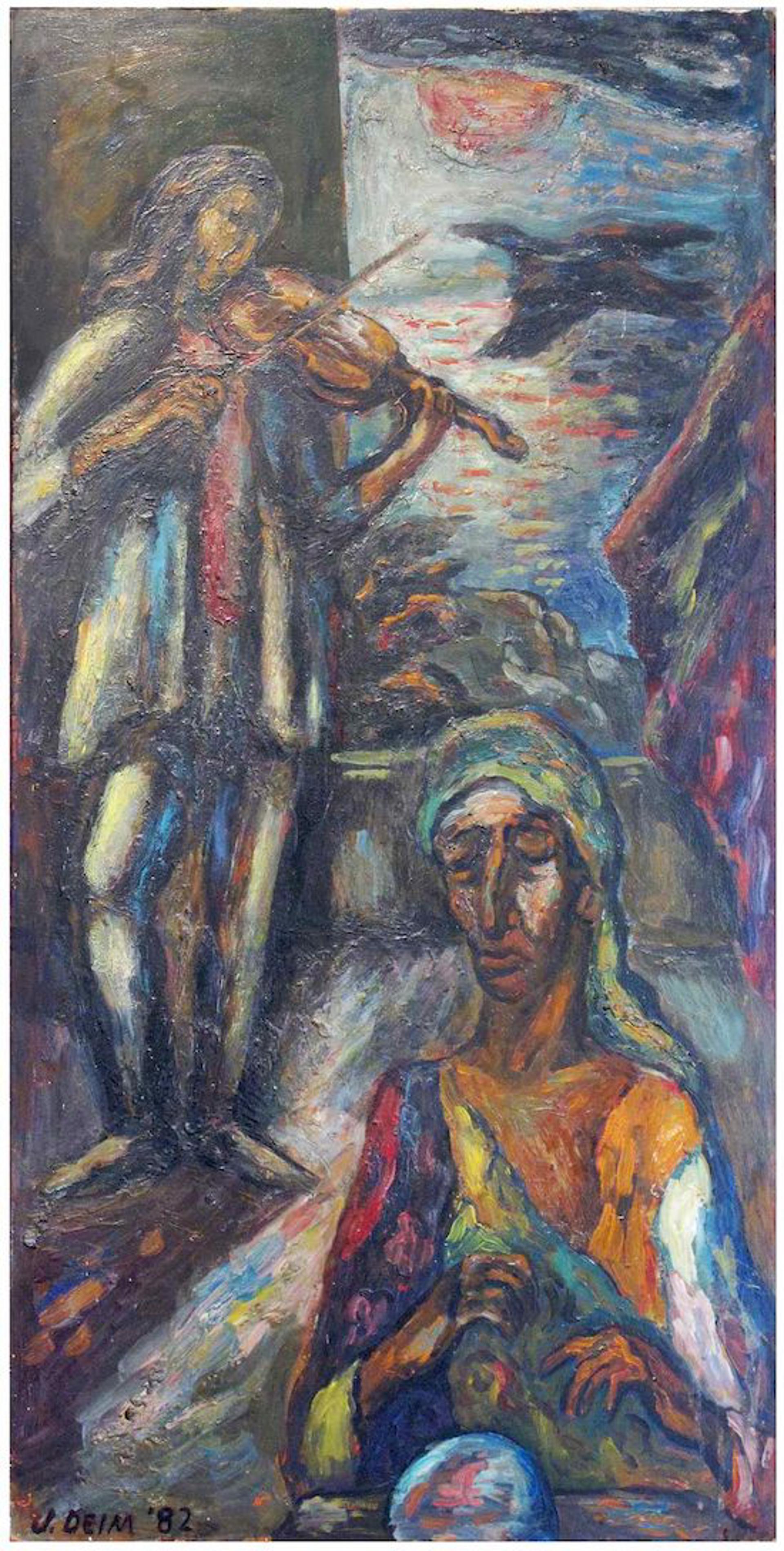 Evocation by Judith Deim