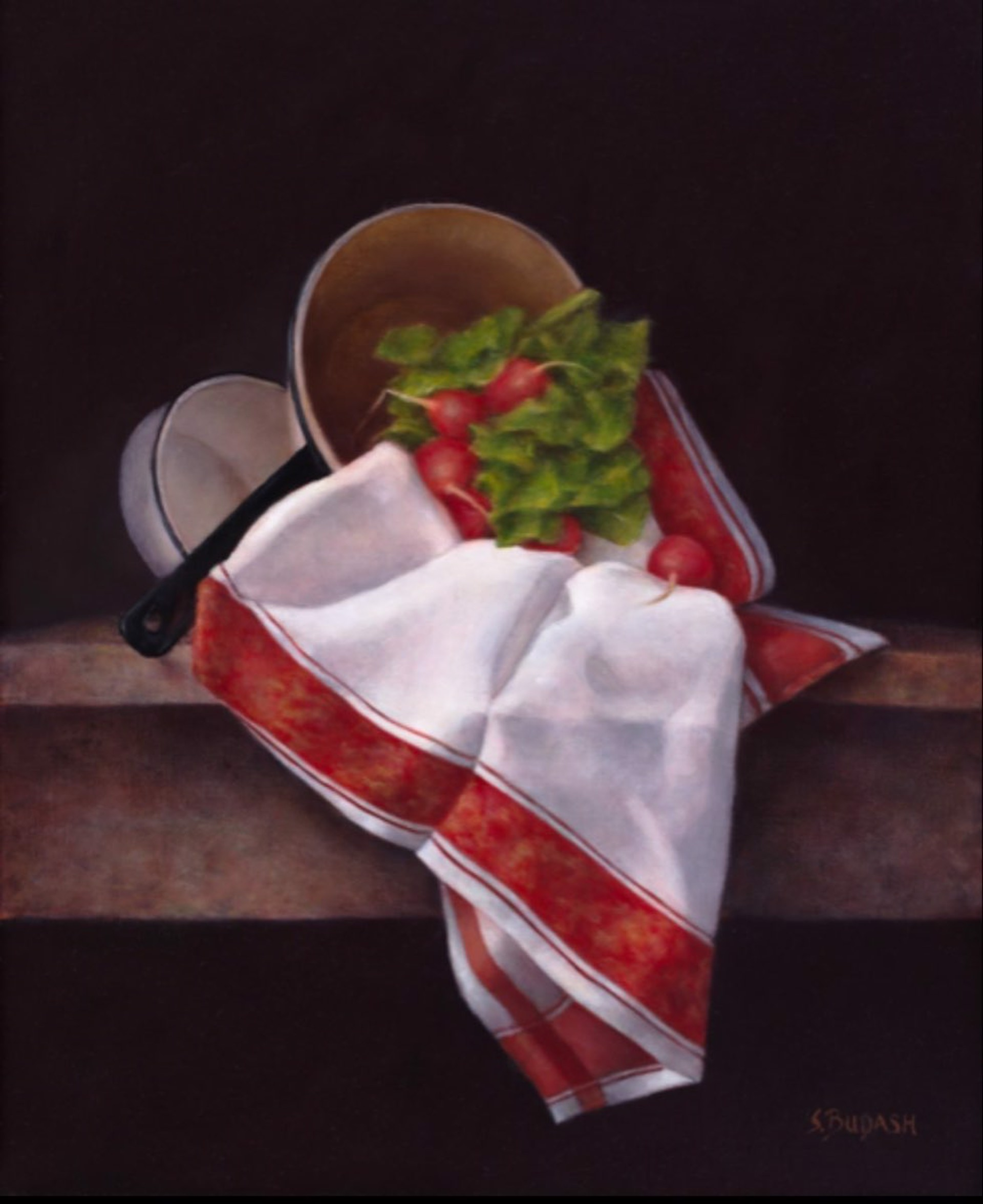Fandango In Red by Susan Budash