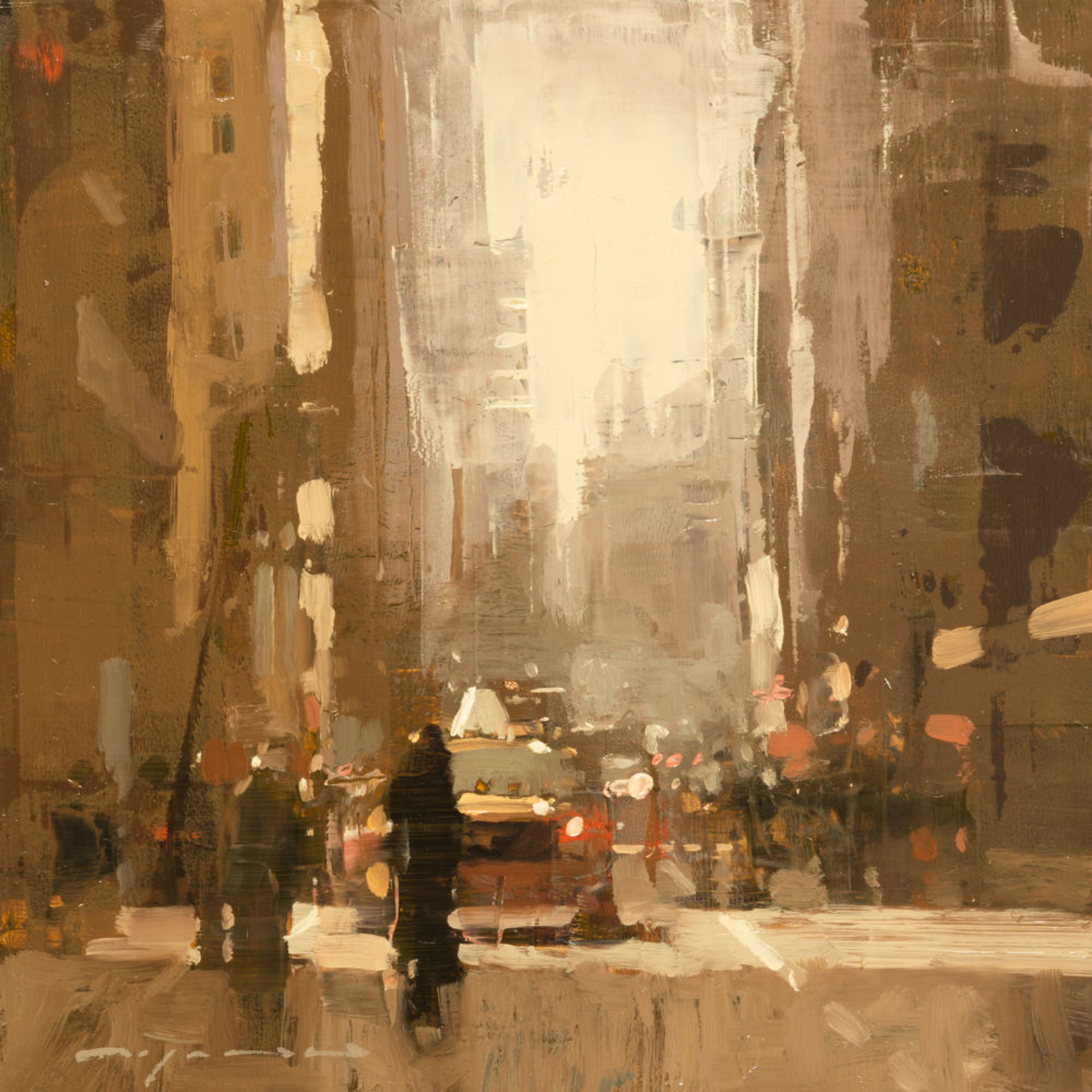 Cityscape  - Composed Form Study no. 20 by Jeremy Mann