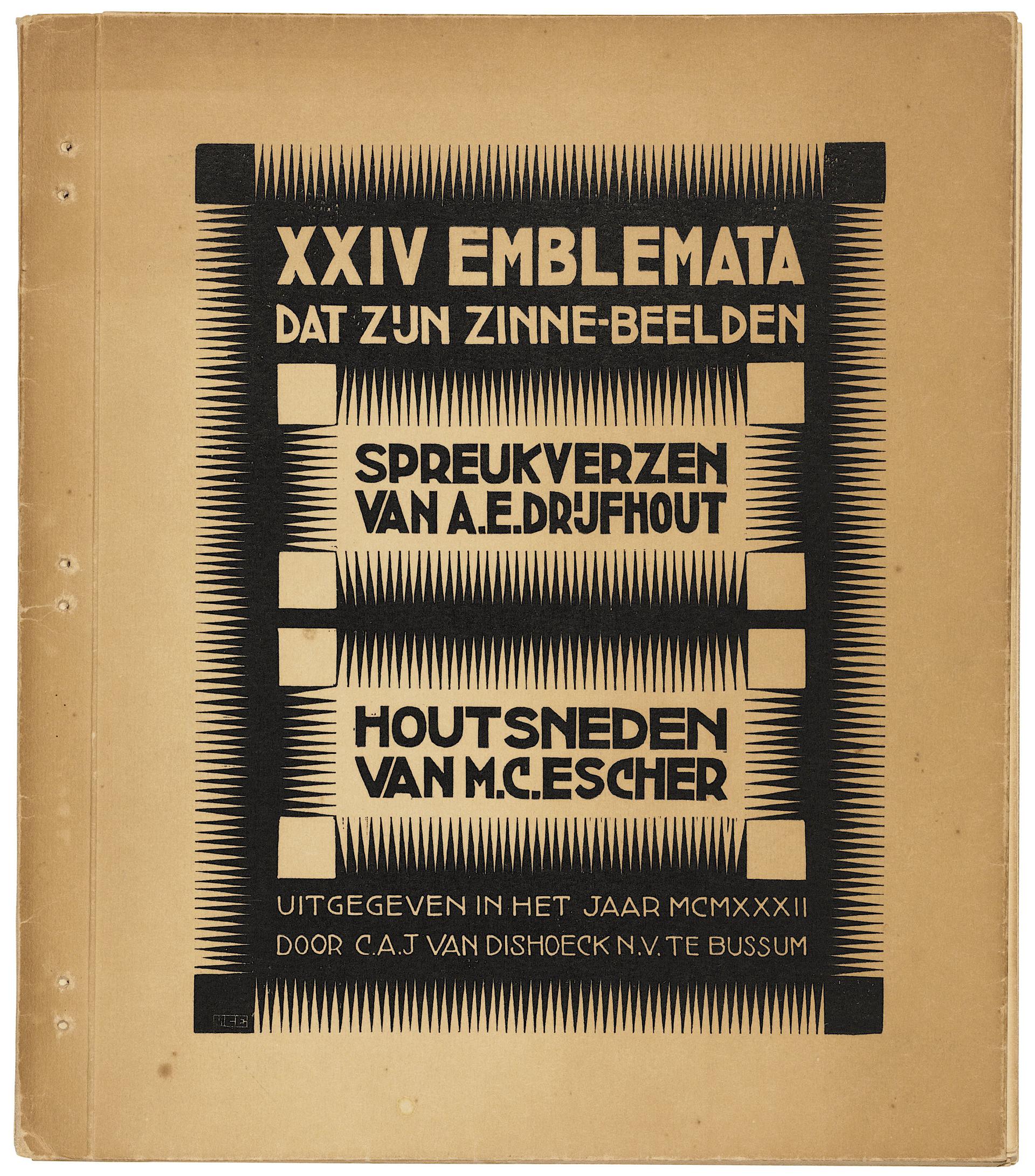 Emblemata Complete Bound Book by M.C. Escher