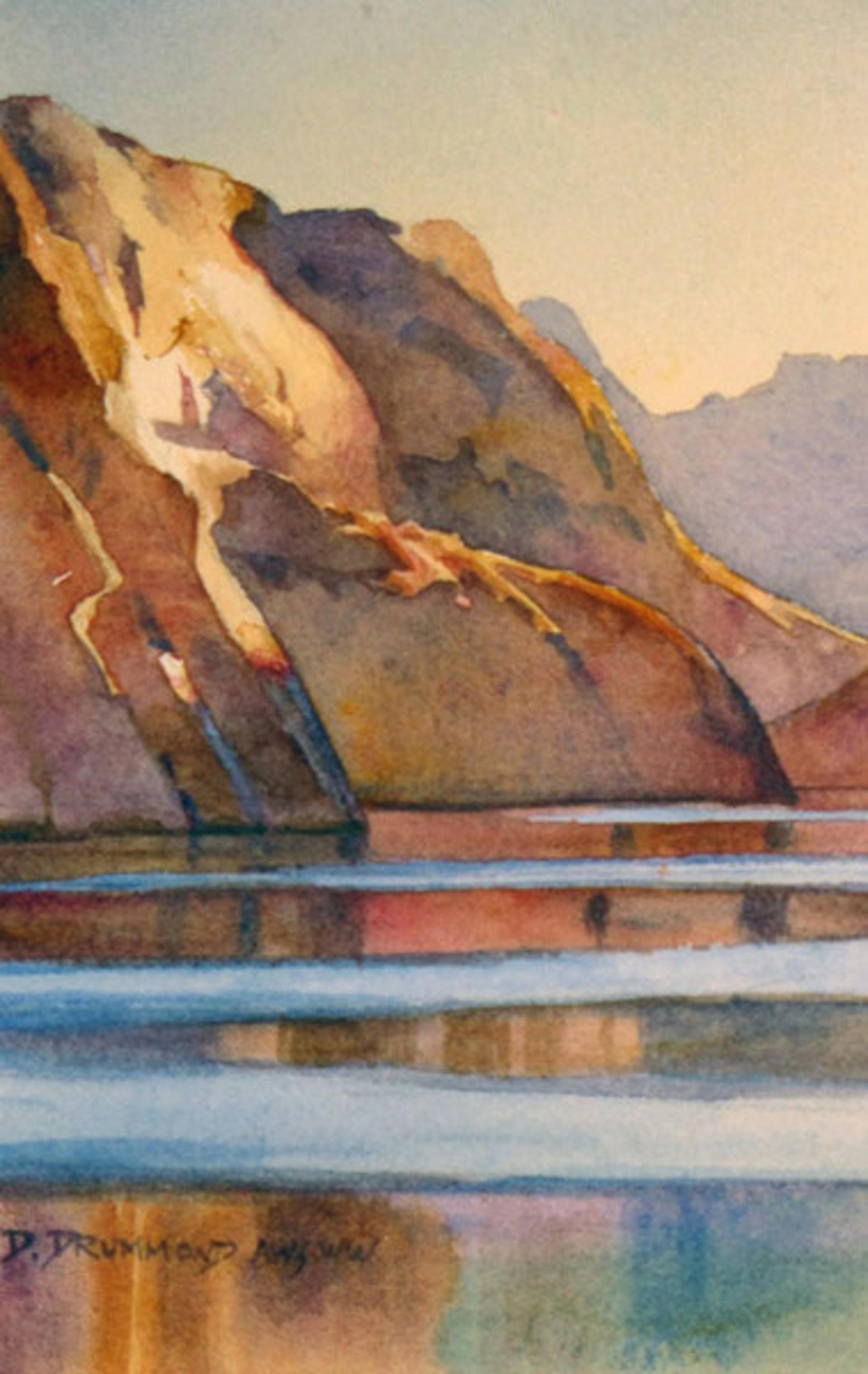 Iceberg Canyon Light by David Drummond
