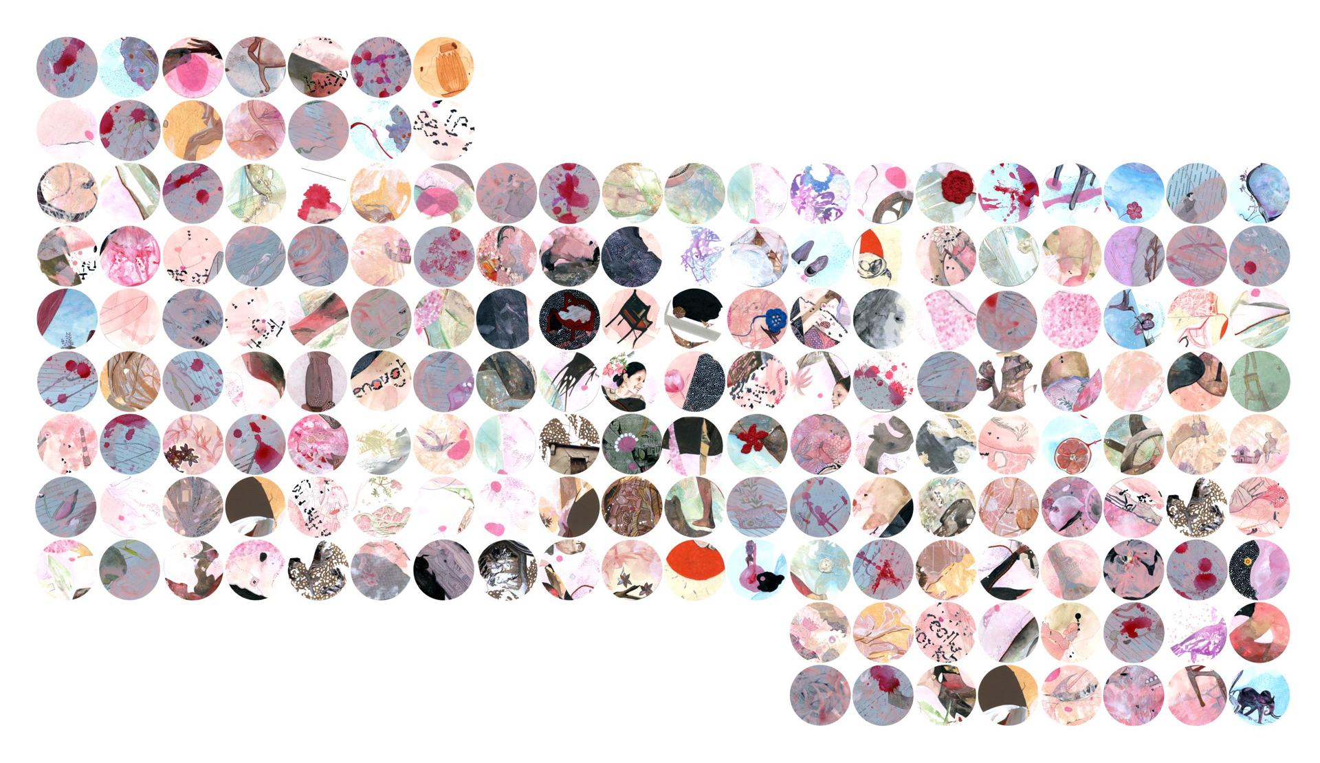 Full Stop ( 170 pieces) by Ritu Sinha
