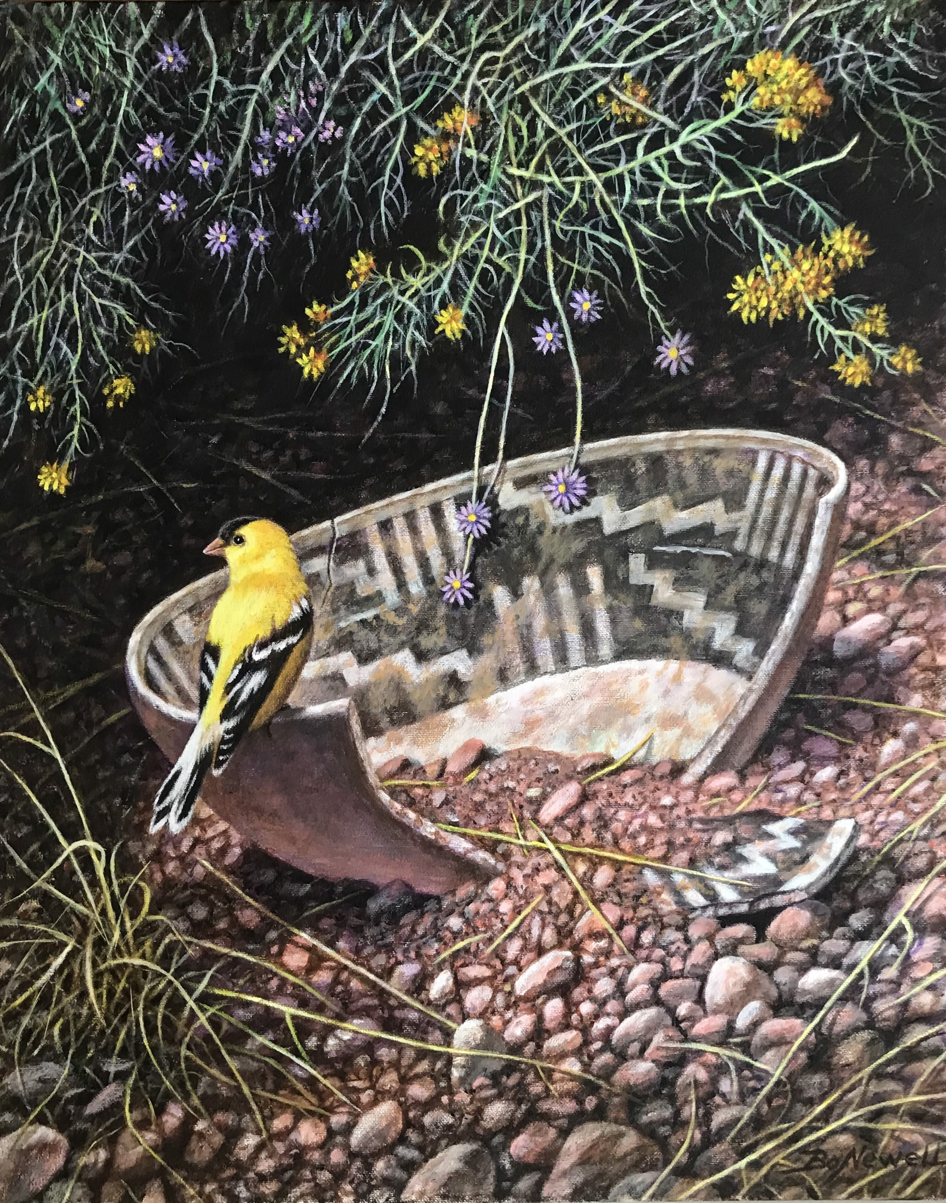Goldfinch by Bo Newell