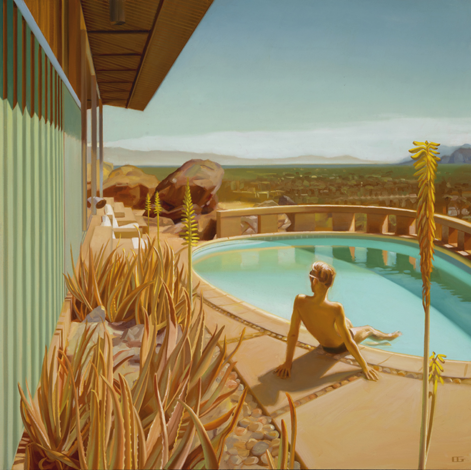 Frey House (S/N) by Carrie Graber