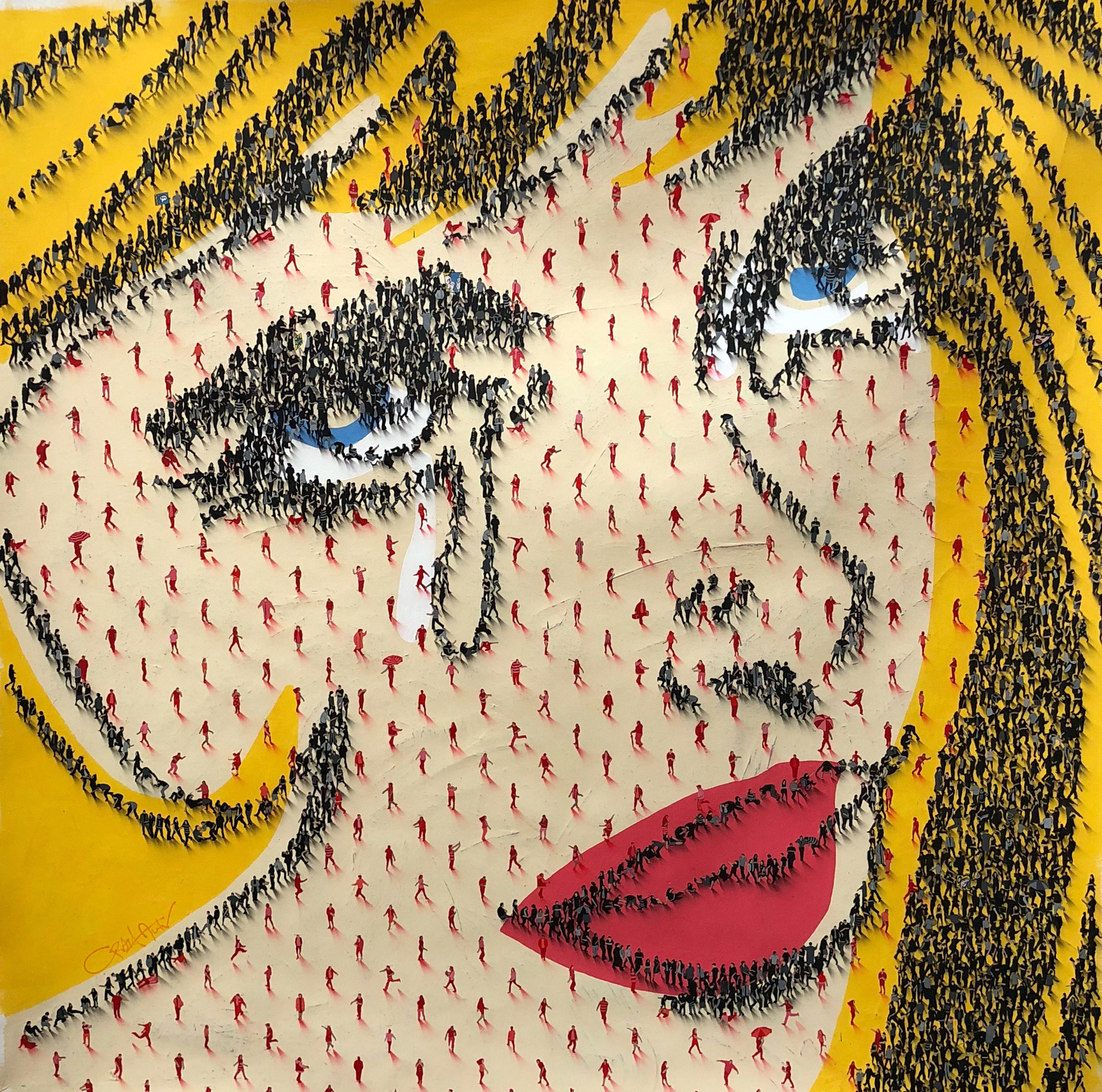 Happy Tears (SOLD) by Craig Alan, Populus Homage