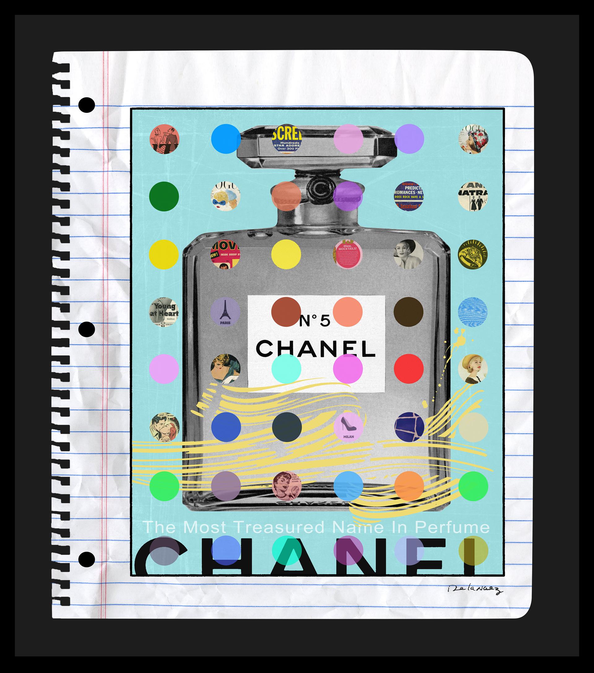 Blue Chanel by Nelson De La Nuez