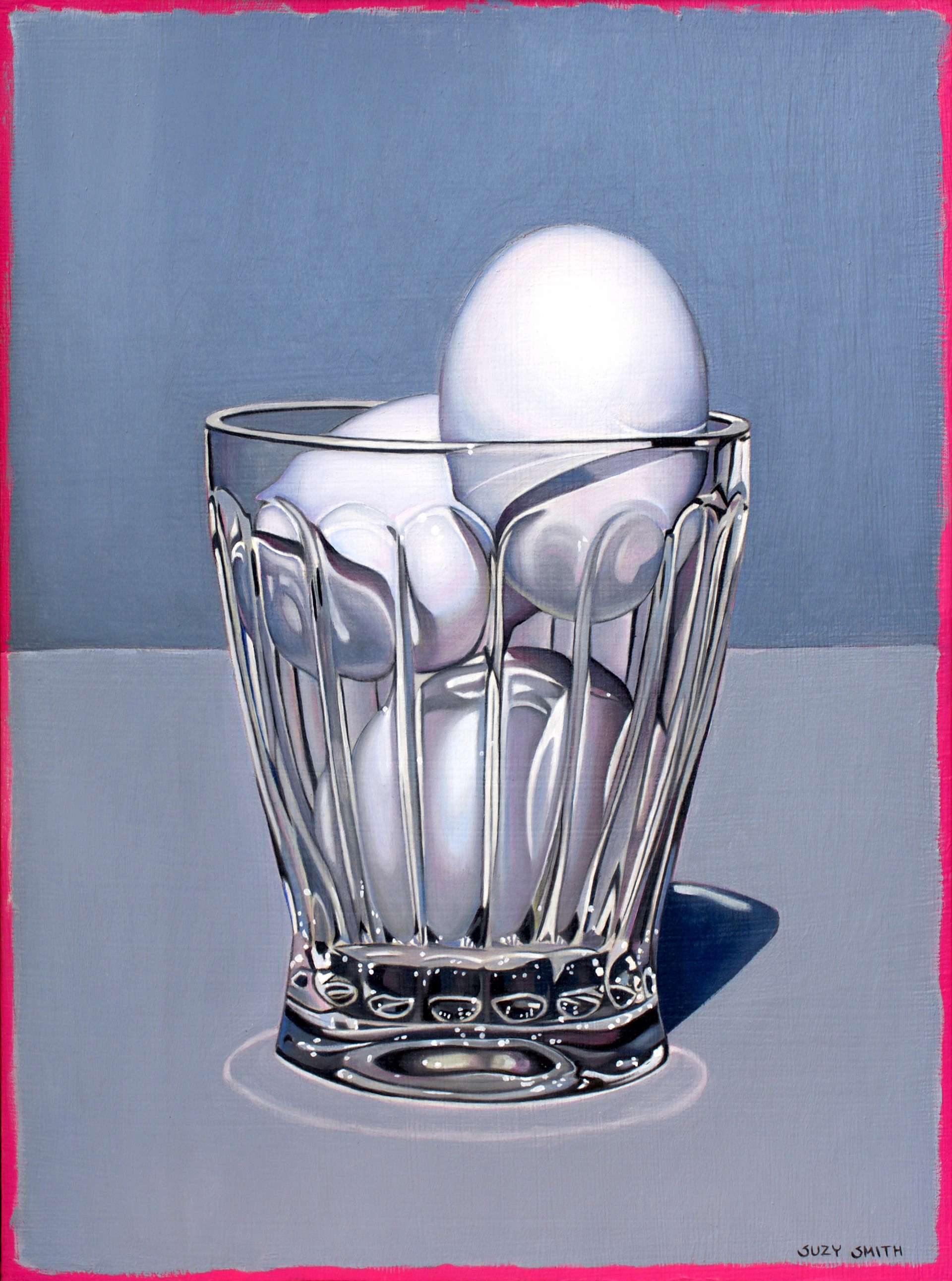 Eggs in Glass by Suzy Smith
