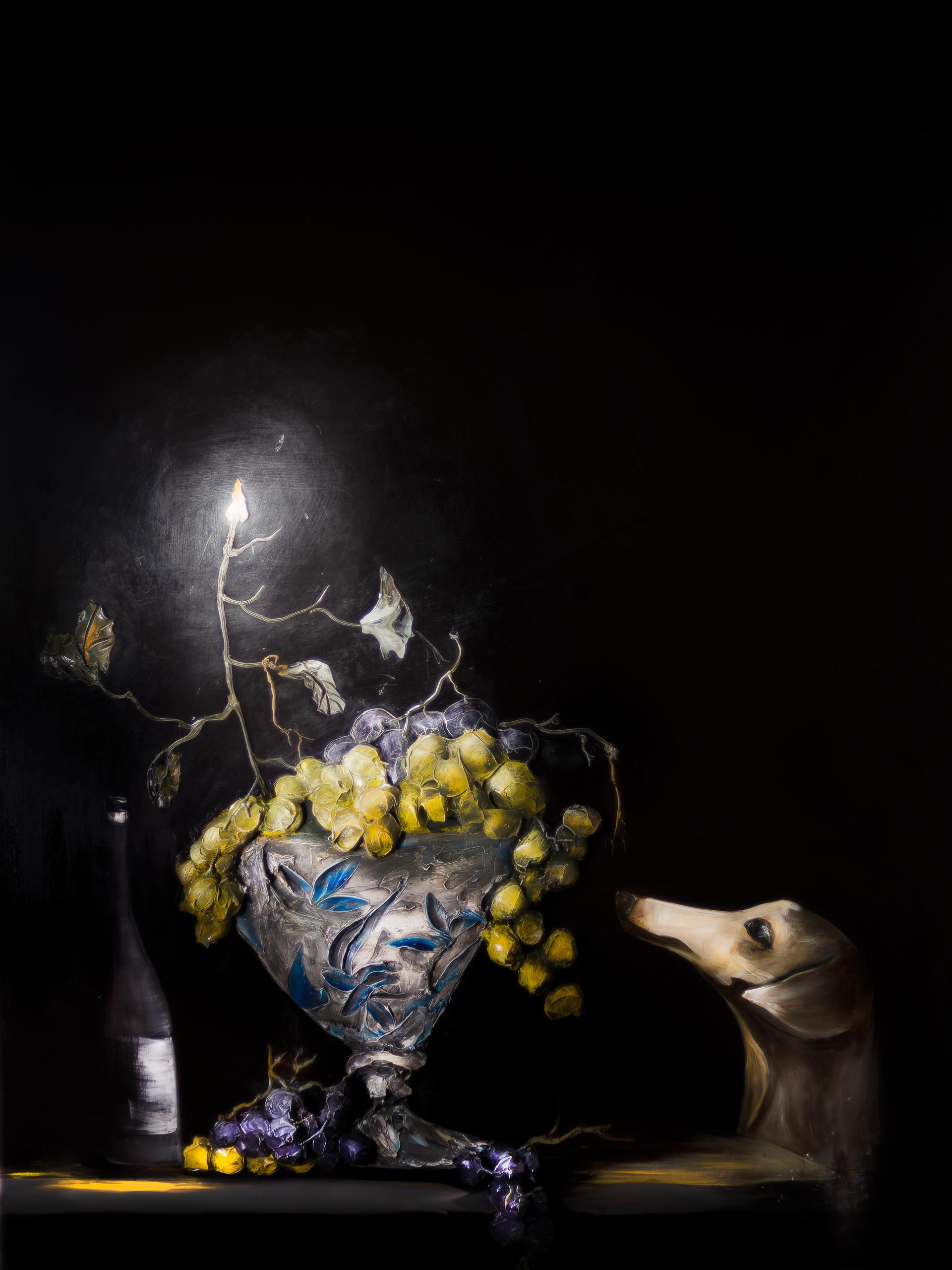 I SAW THE LIGHT  LS-DL-45x60-2019-147 by JUSTIN GAFFREY