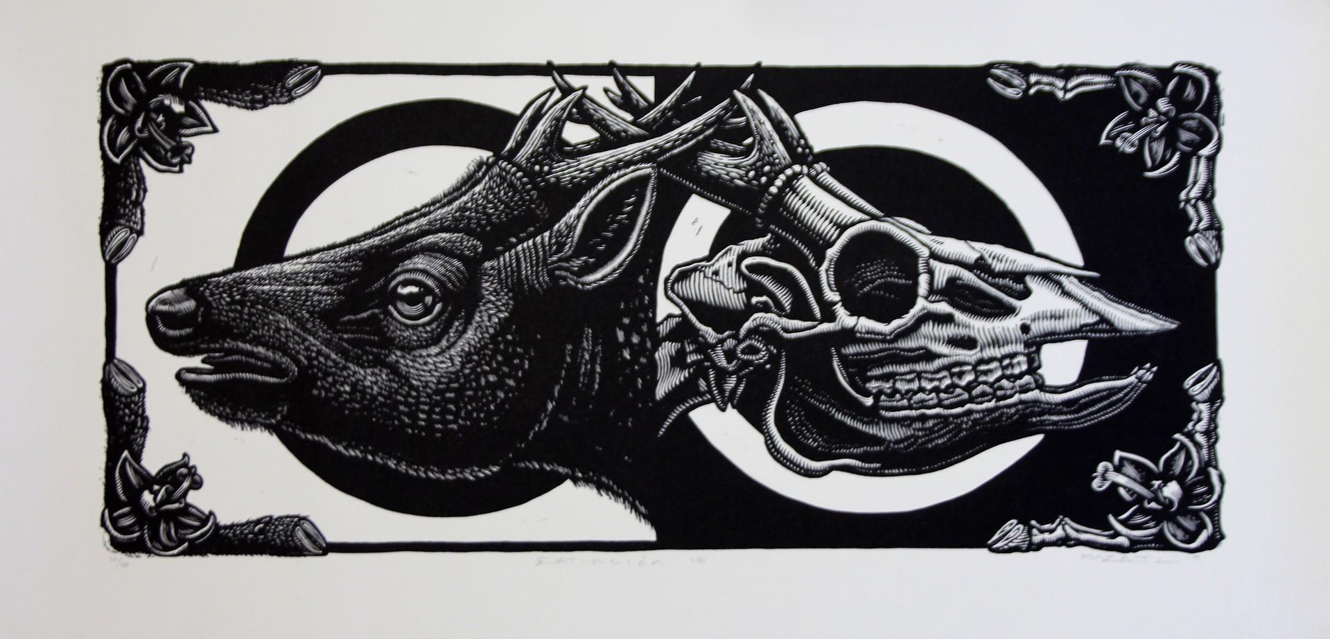Extincion XV (Visayan Spotted Deer) by Mazatli