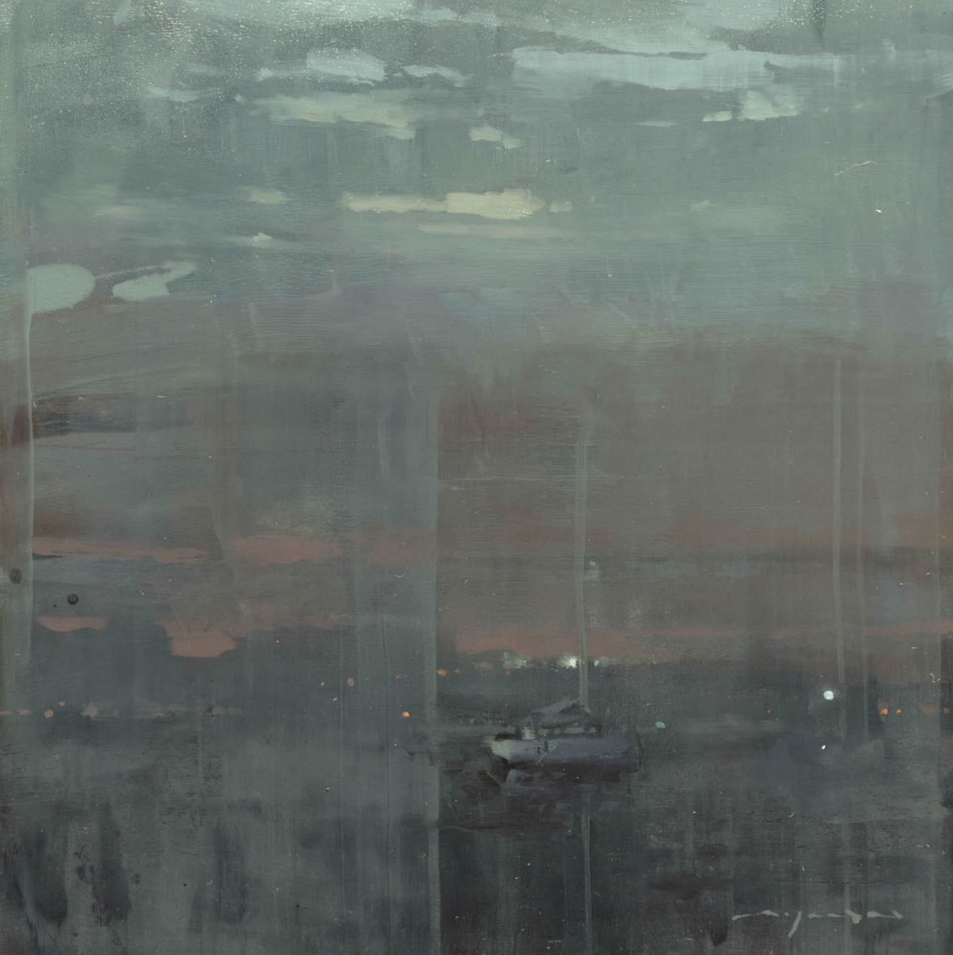 Cityscape - Composed Form Study No. 18 by Jeremy Mann