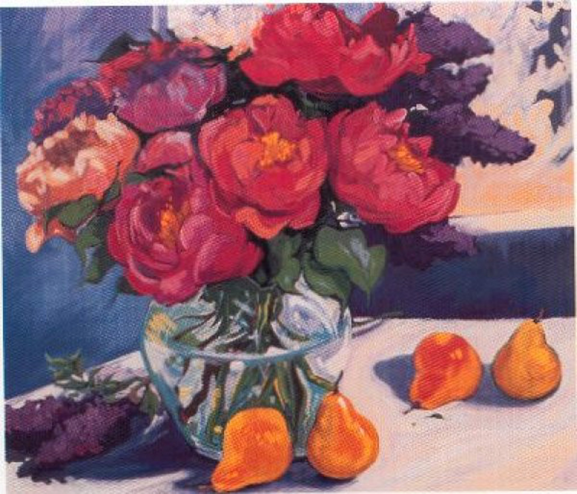 Colors Of Spring (Serigraph) by Maria Bertrán