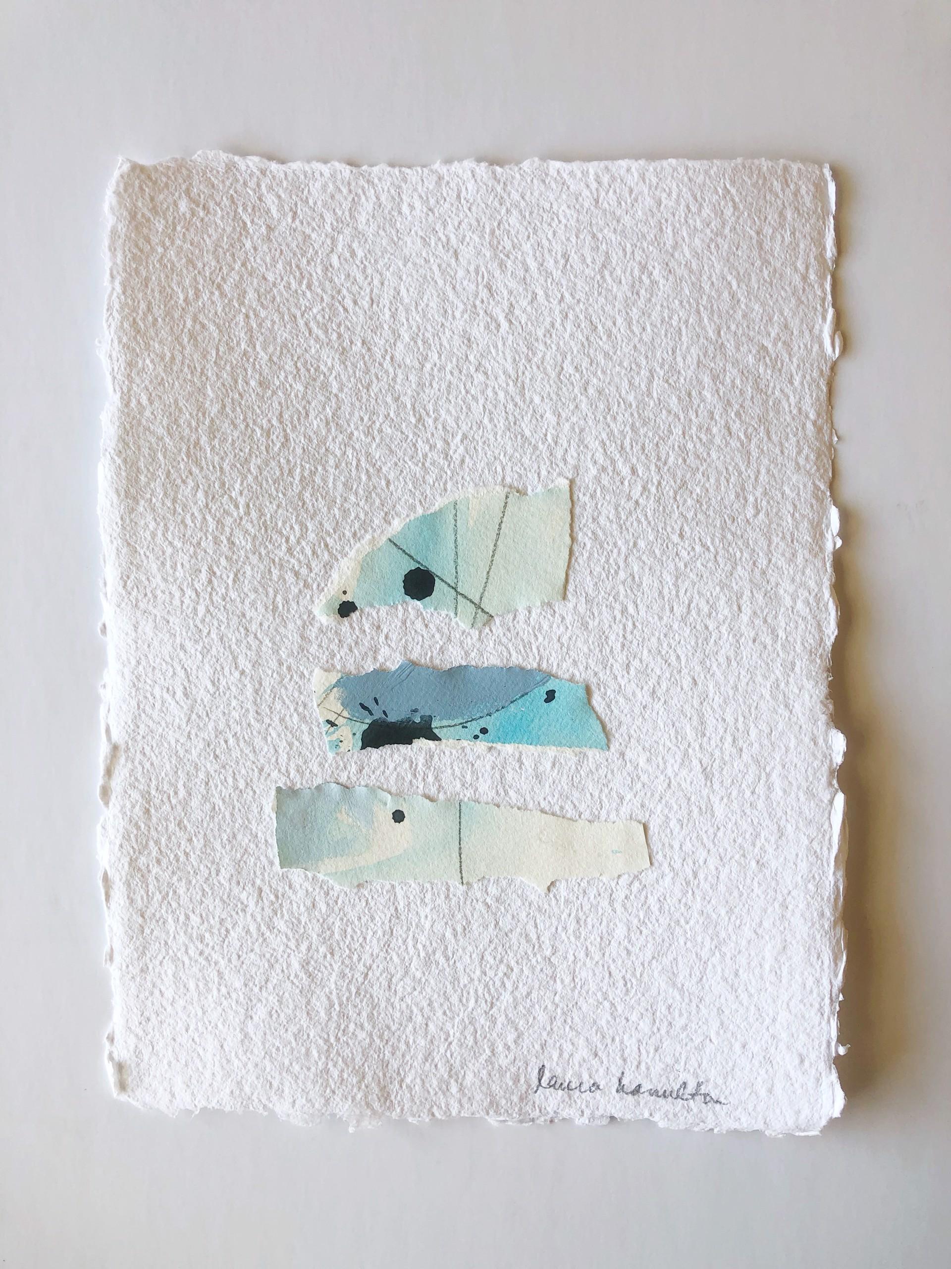 Blue Study II by Laura Hamilton