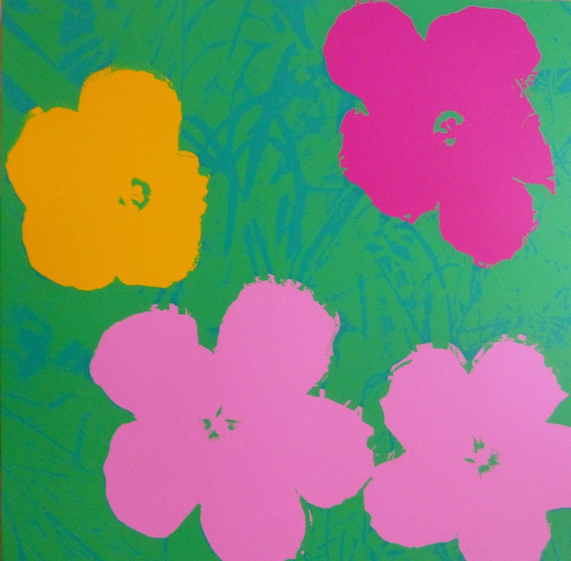 Flowers  by Andy Warhol
