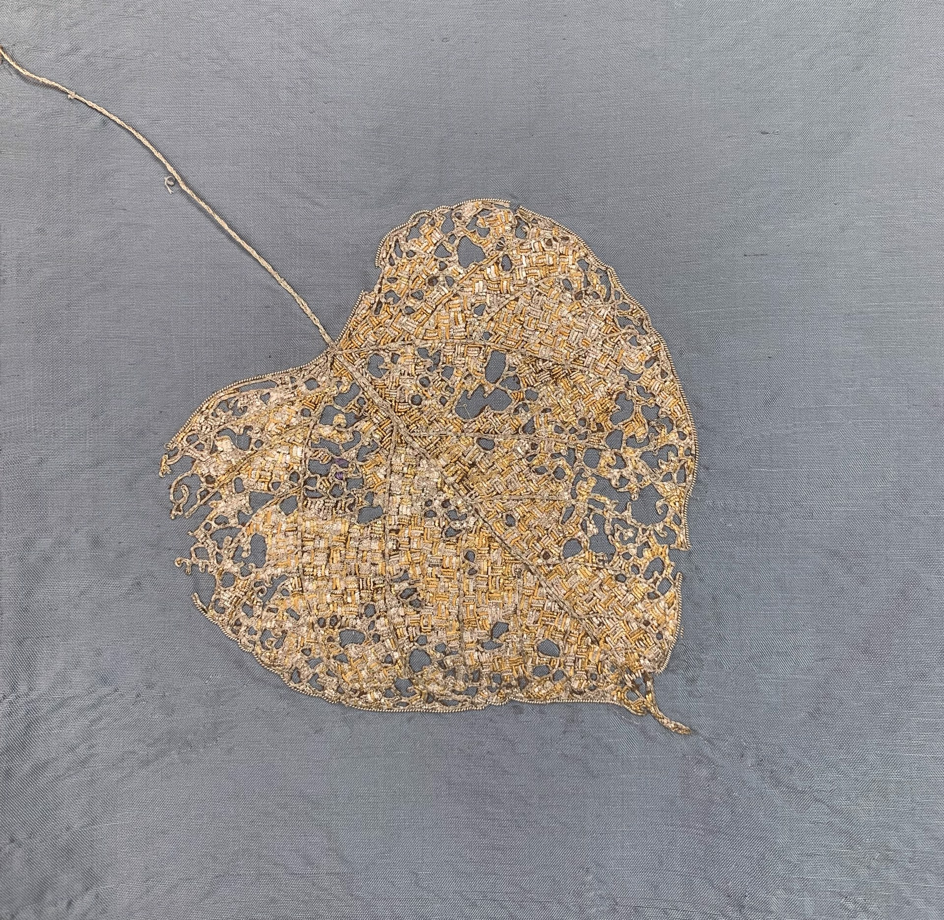 Meditation Screen II: Mulberry Leaf by Tiao Nithakhong Somsanith