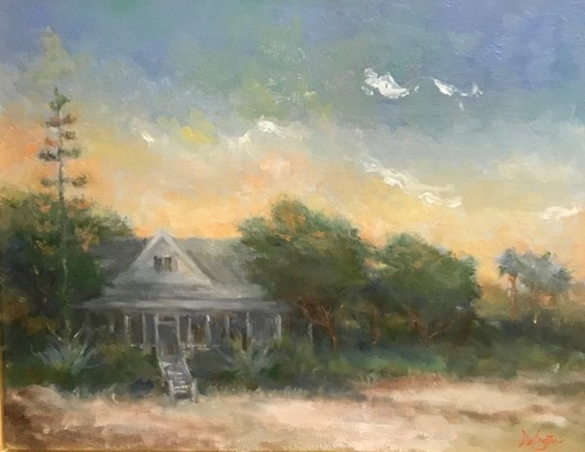 Blooming Yuca by Jim Darlington