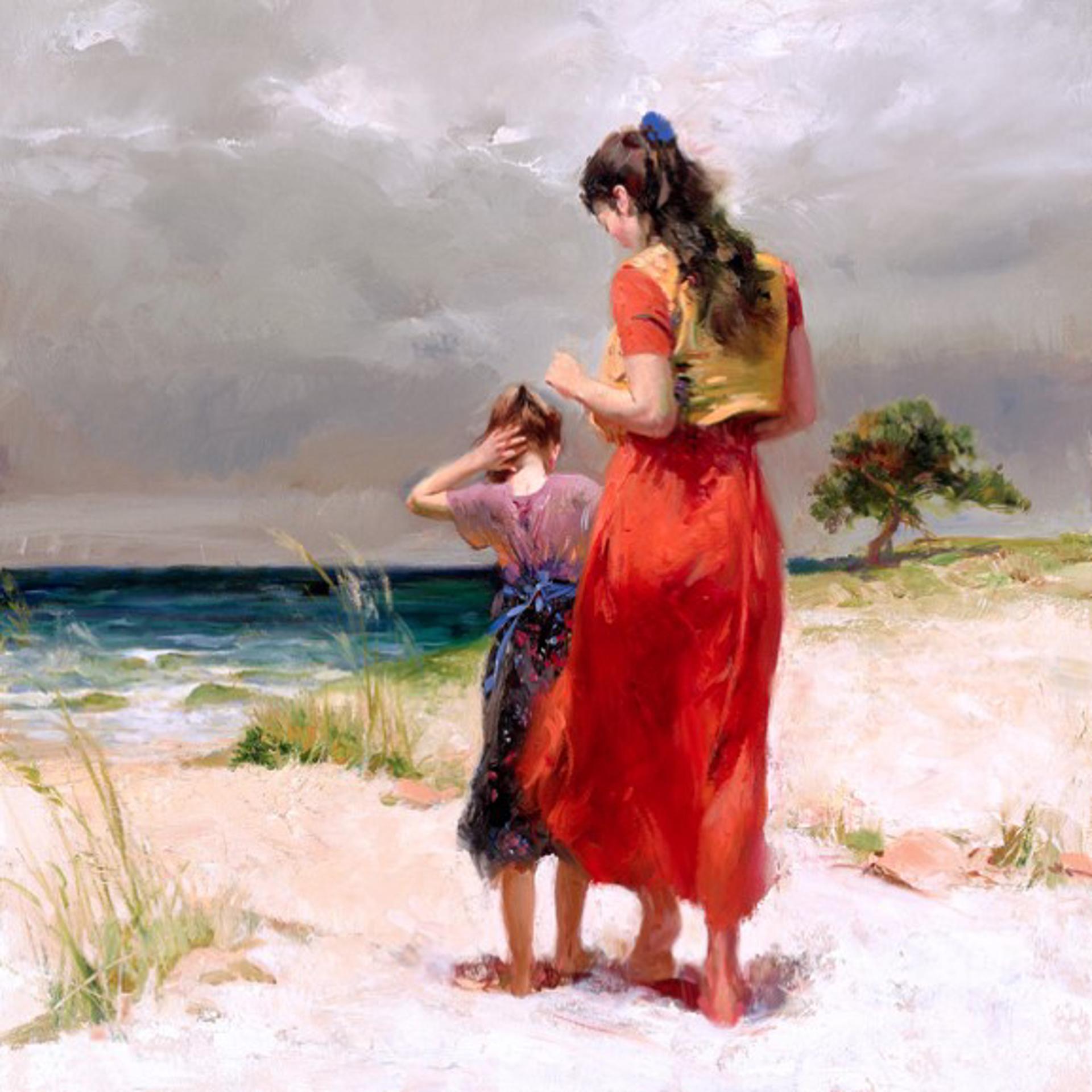Beach Walk by Pino