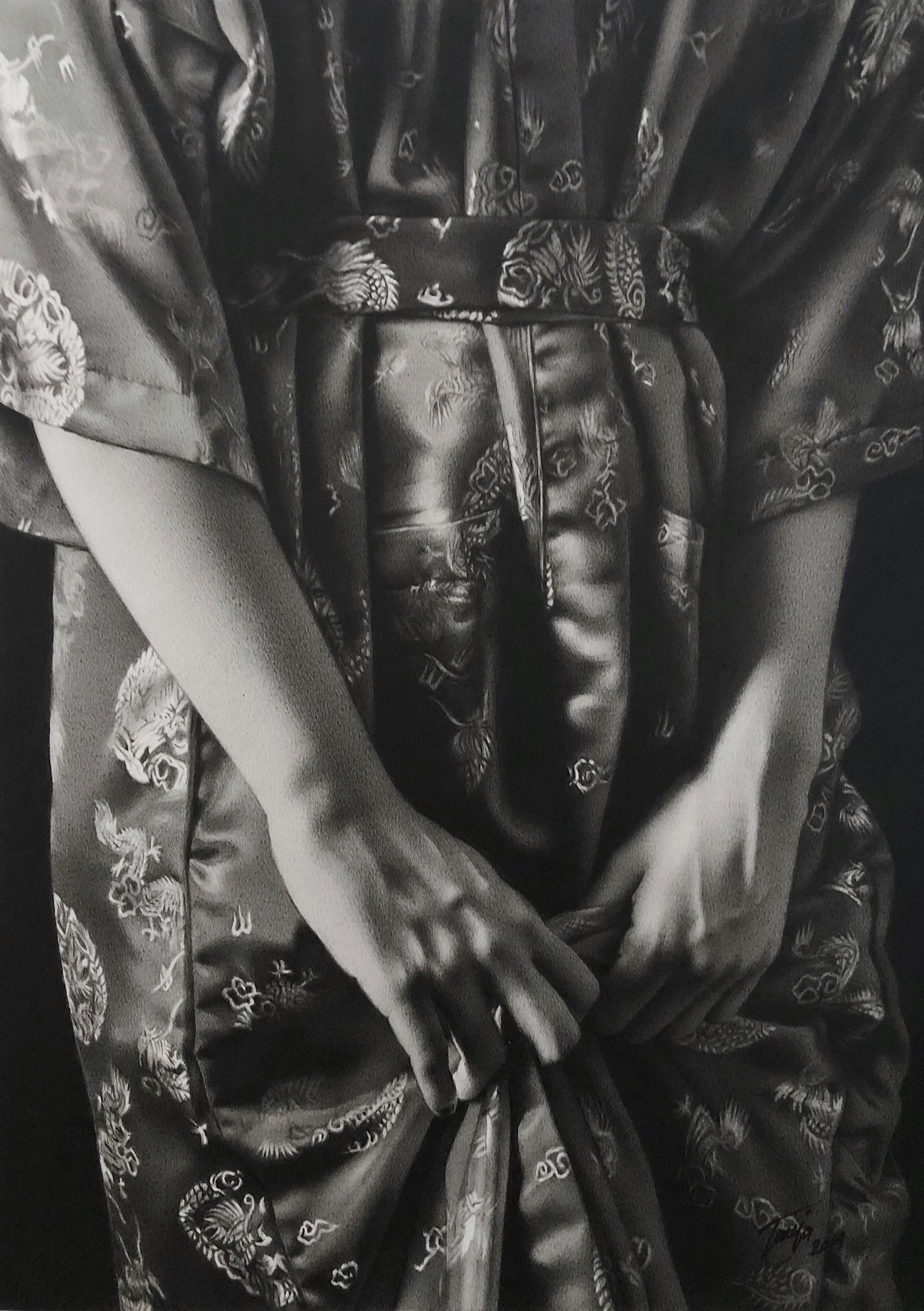 Red Kimono by Tanja Gant