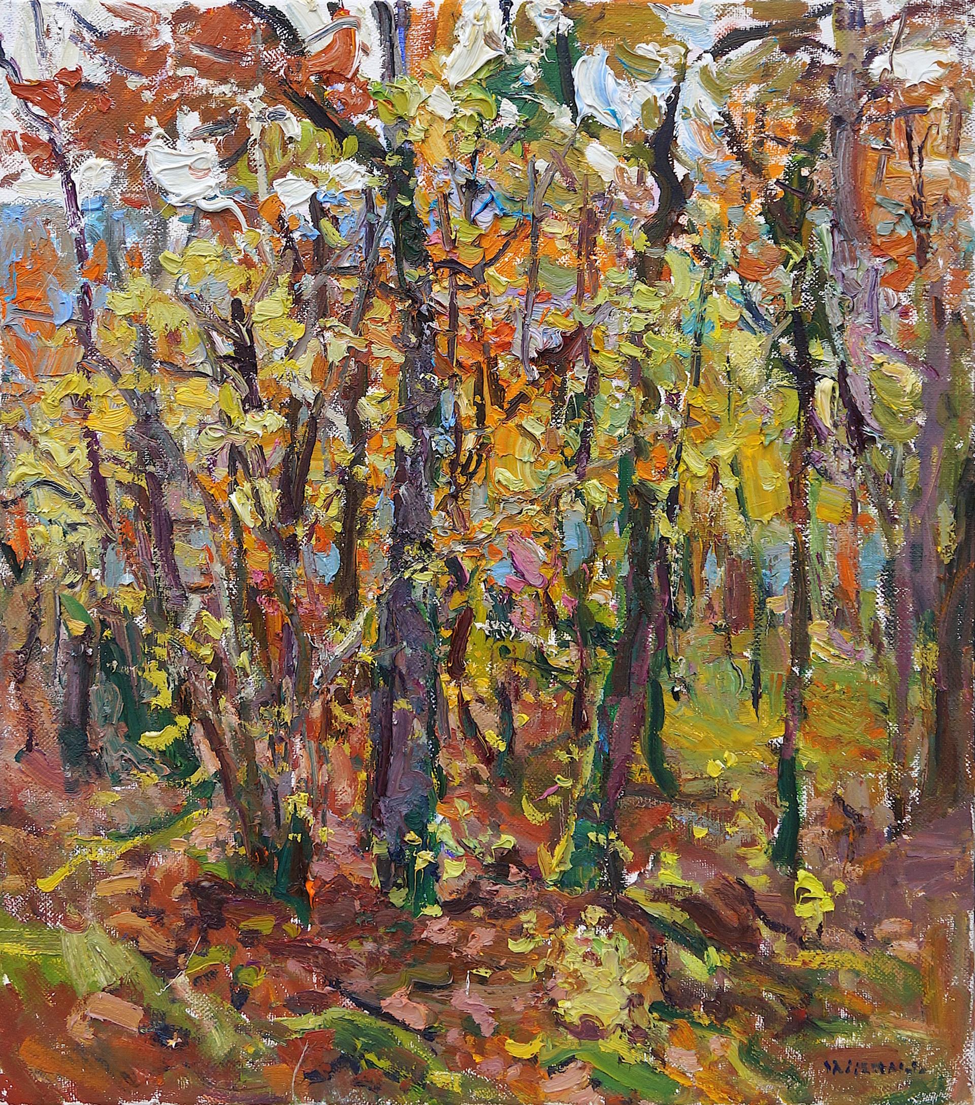 Forest in Autumn by Antonin Passemard