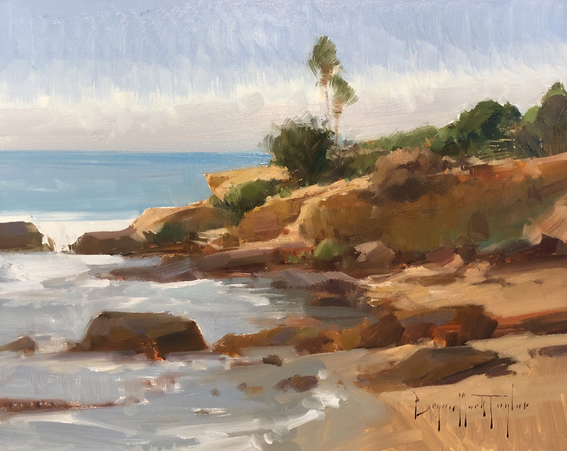 Low Tide Afternoon by Bryan Mark Taylor