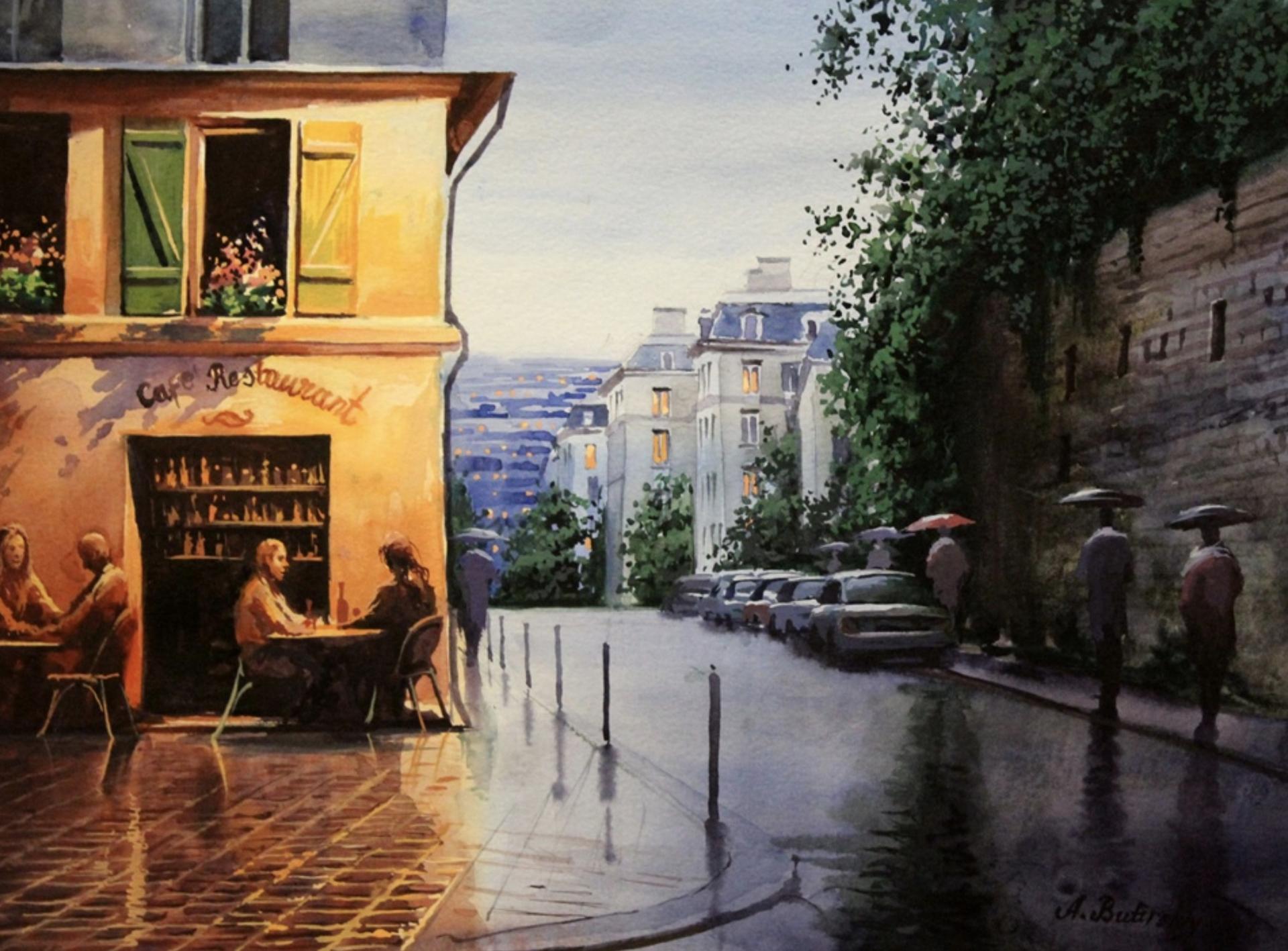 Montmarte Afternoon by Alexei Butirskiy