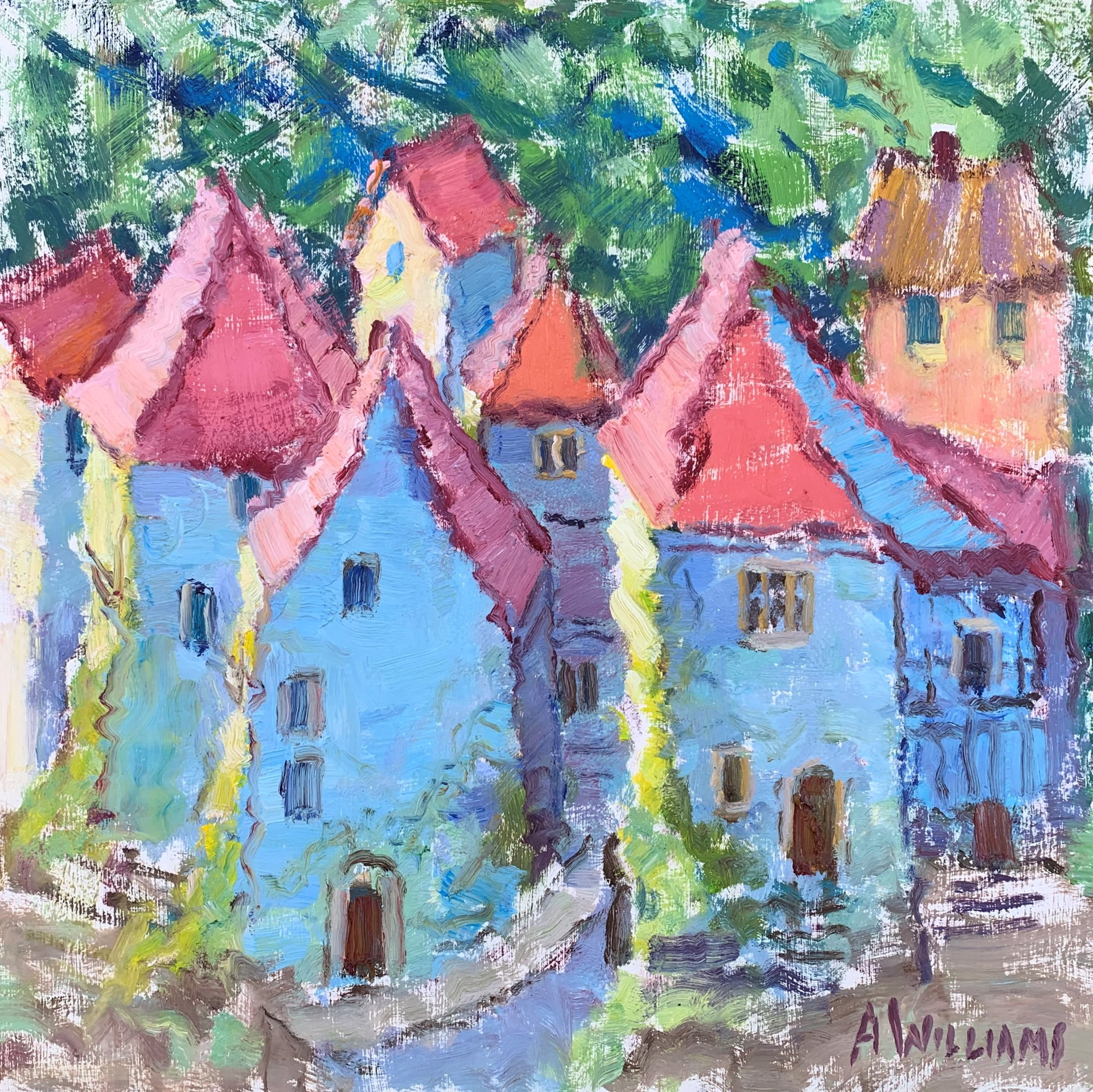 Dordogne Colors by Alice Williams