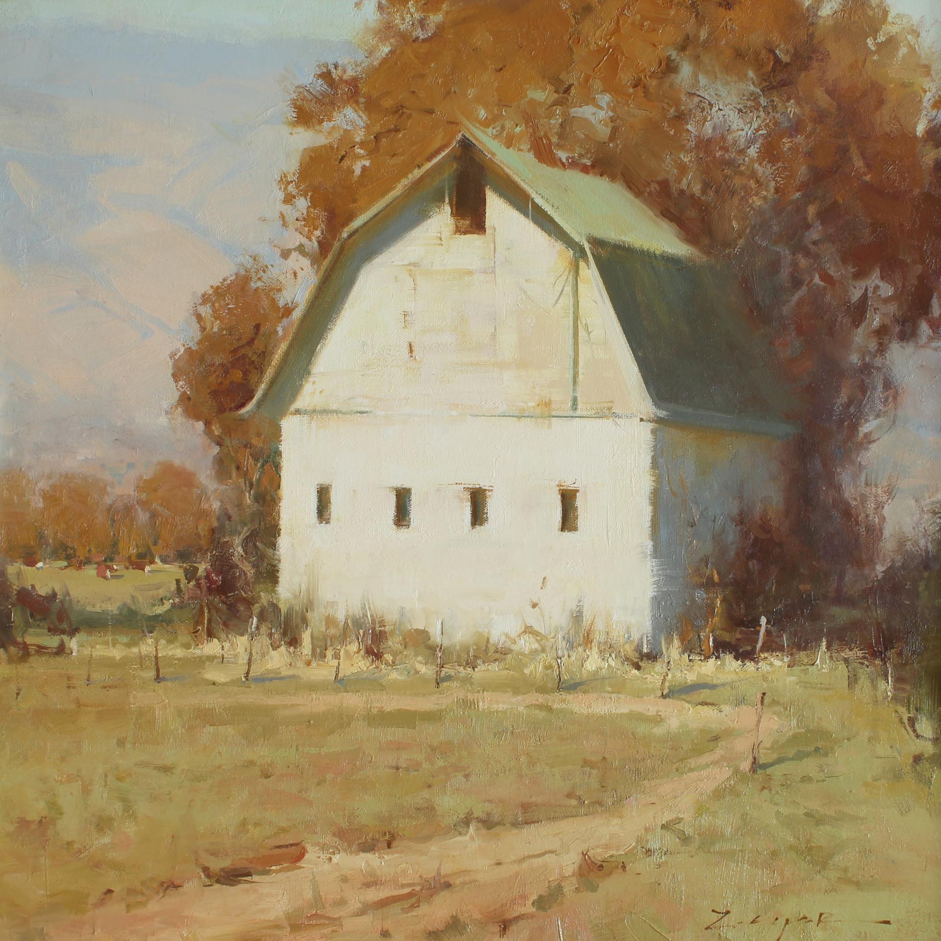 Autumn Patchwork by Allie Zeyer