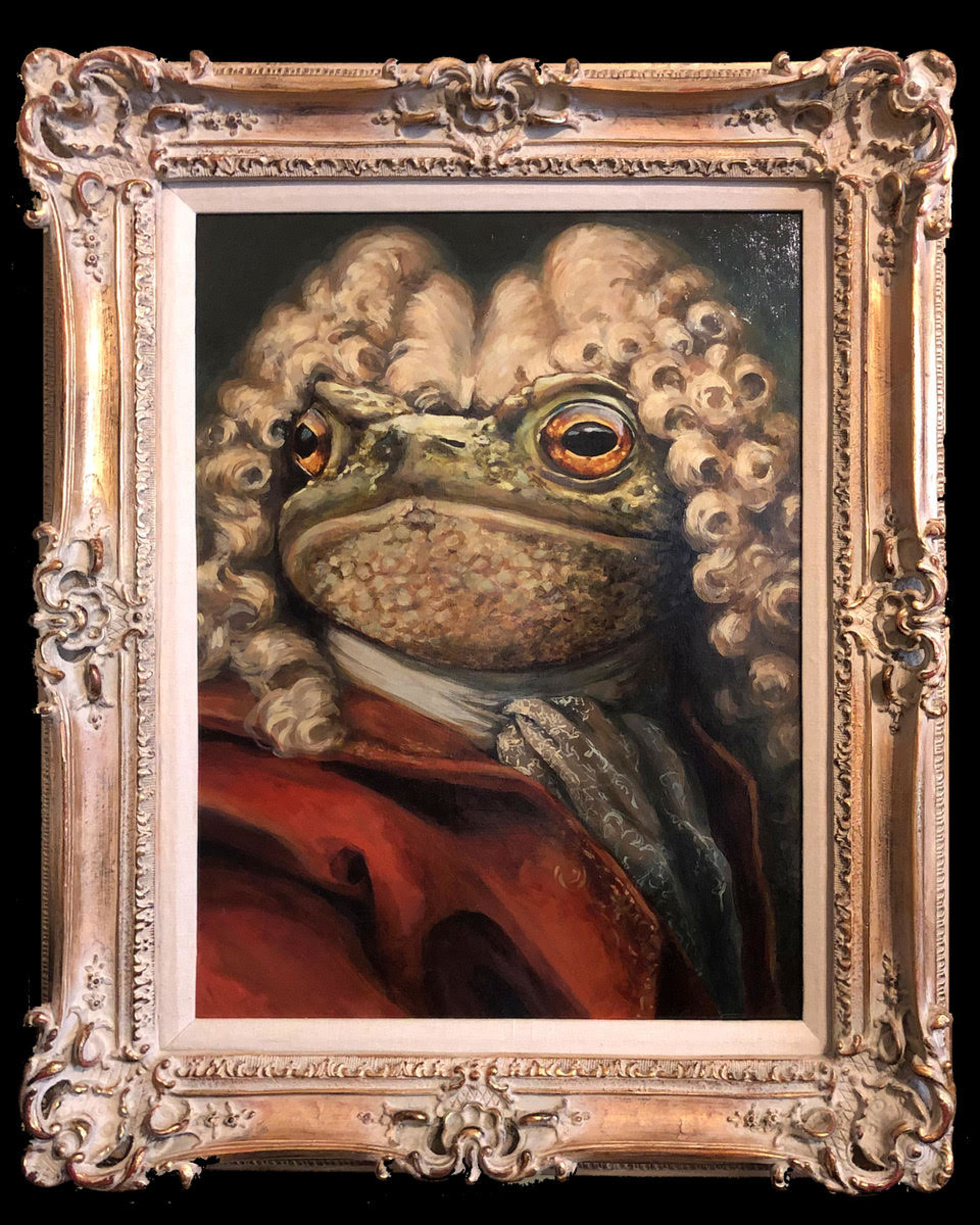 The Noble Toad by Cassandra Kim