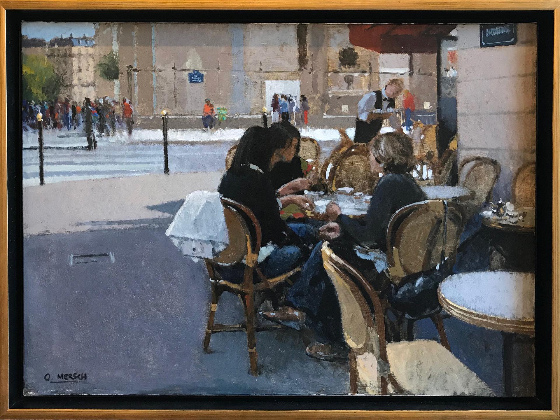 Breakfast in Paris by Oscar Mersch