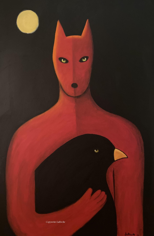RAVENWOLF by Carole LaRoche