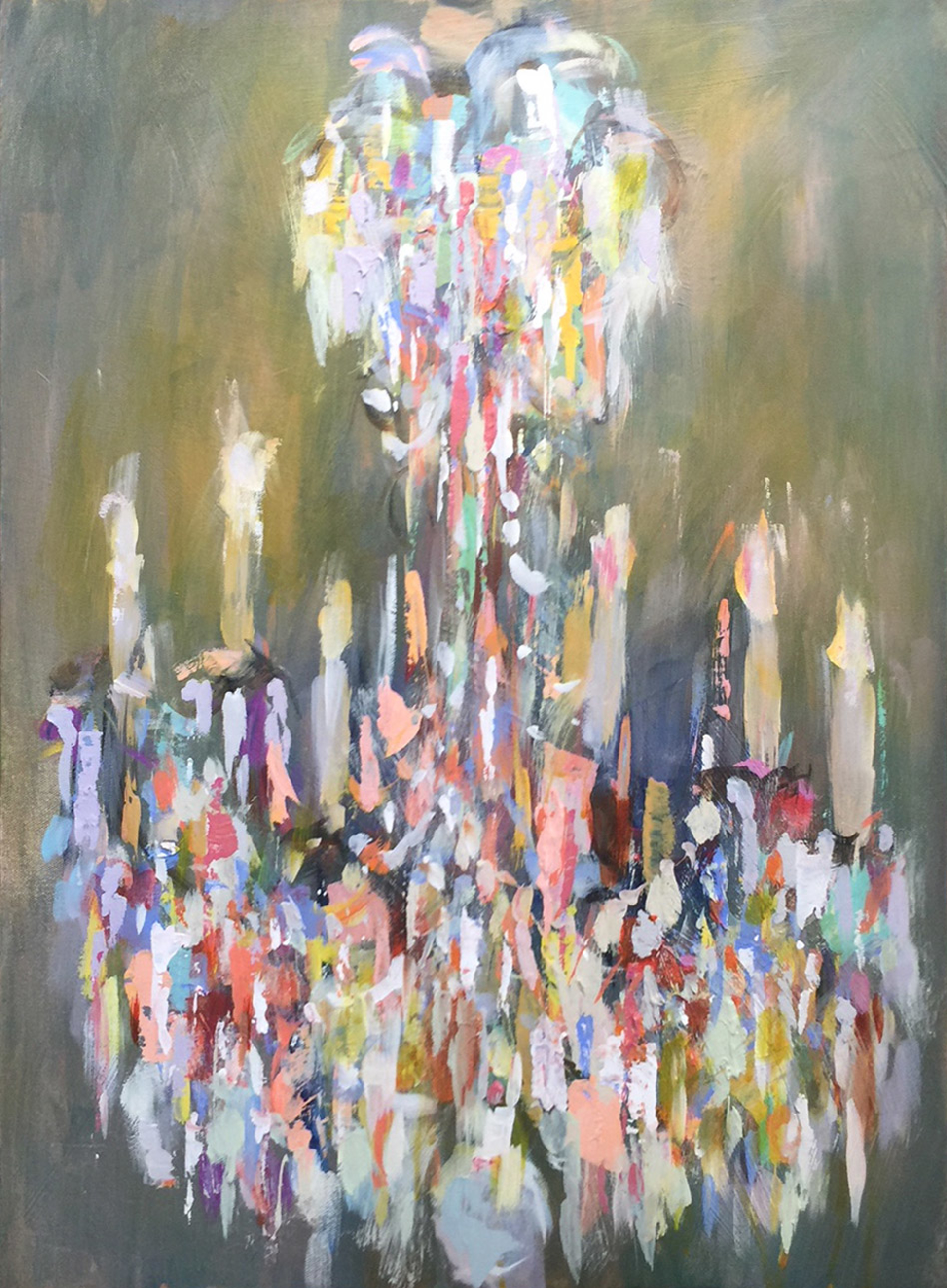 Spring Chandelier by Amy Dixon
