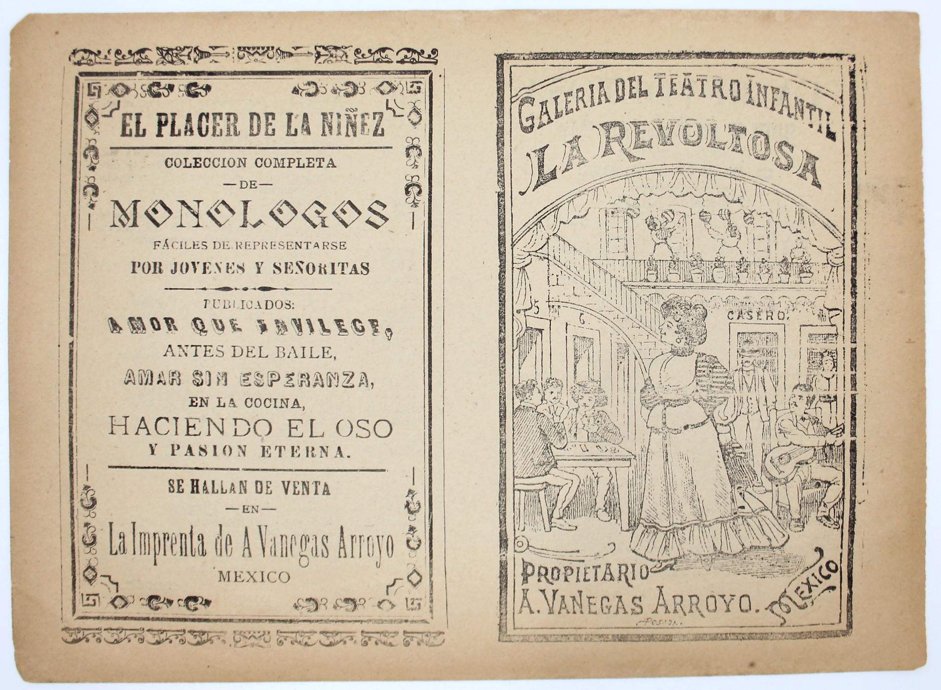 La Revoltosa (2nd Impression) by José Guadalupe Posada (1852 - 1913)