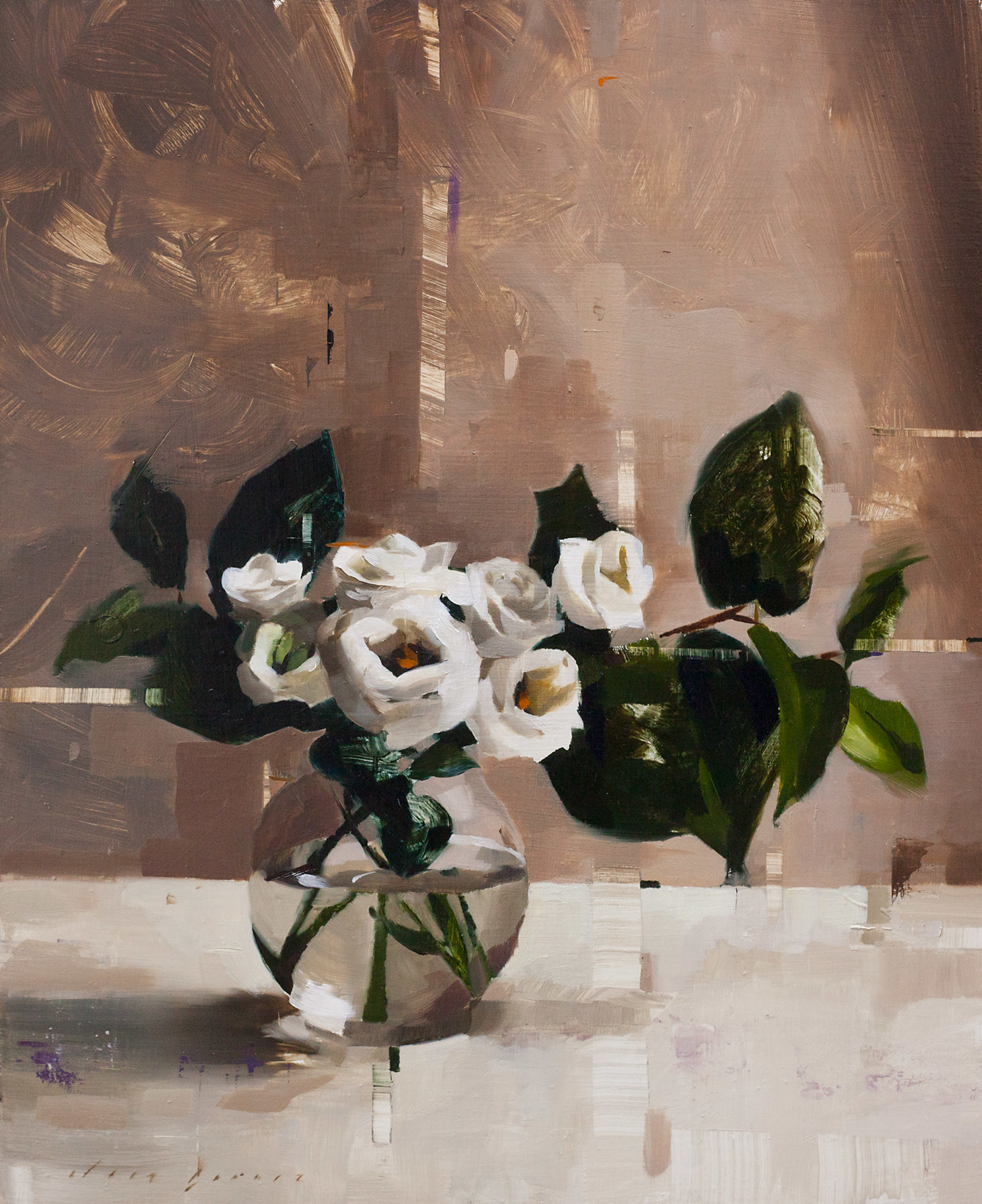 Lisianthus and Shade by Jon Doran