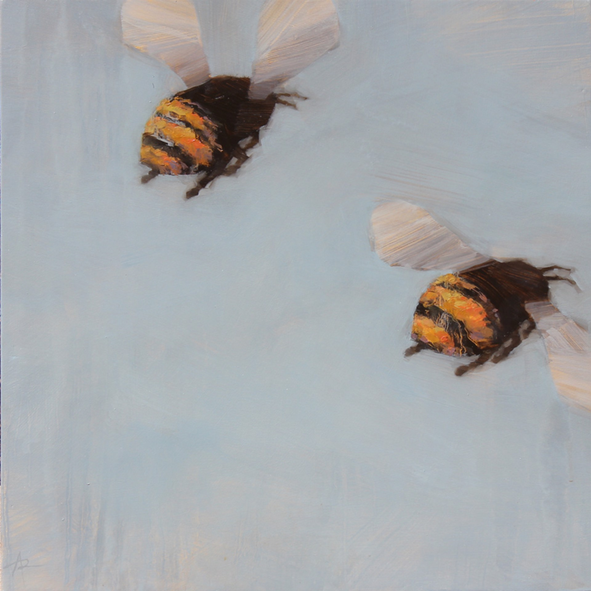 Bees 100 AB by Angie Renfro