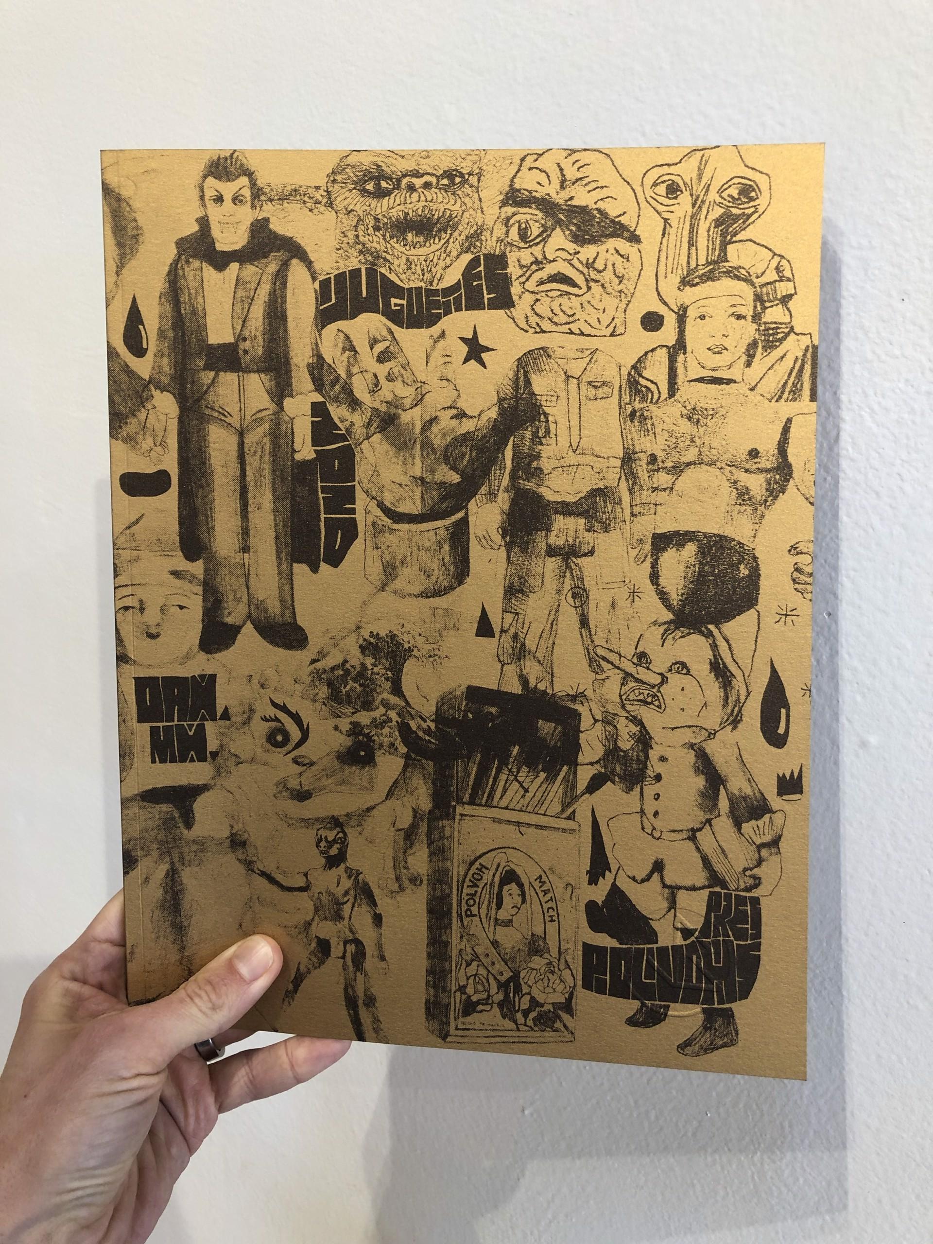 Libro Jugetes Dorado by Polvoh Press