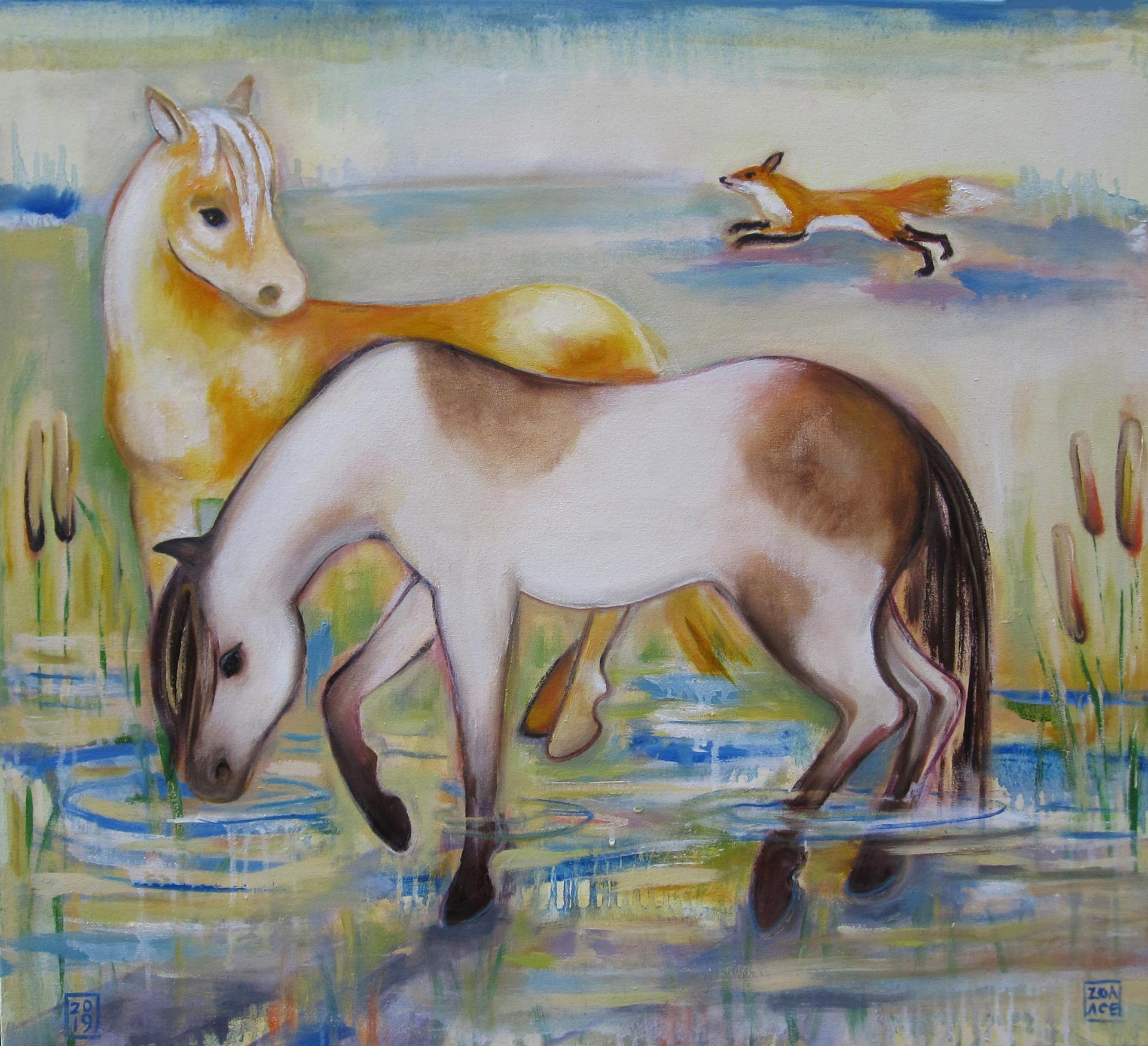 In the Marsh by Zoa Ace