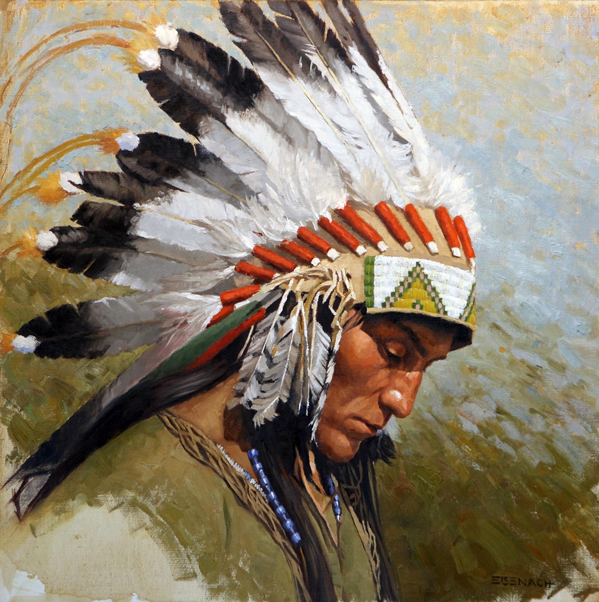 Dohate, Kiowa Chief by Barry Eisenach