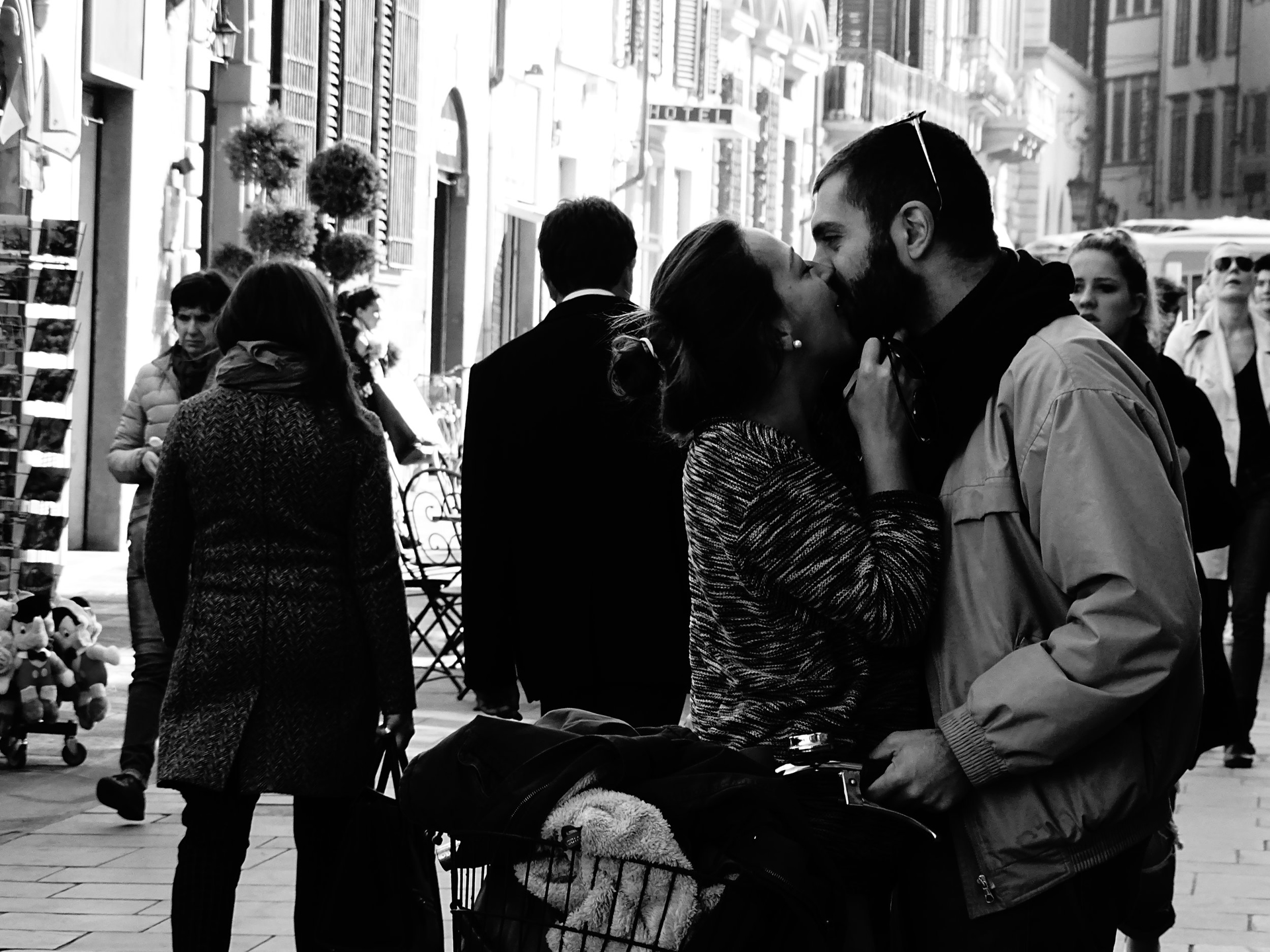 Lovers, Florence  by Stacy Widelitz