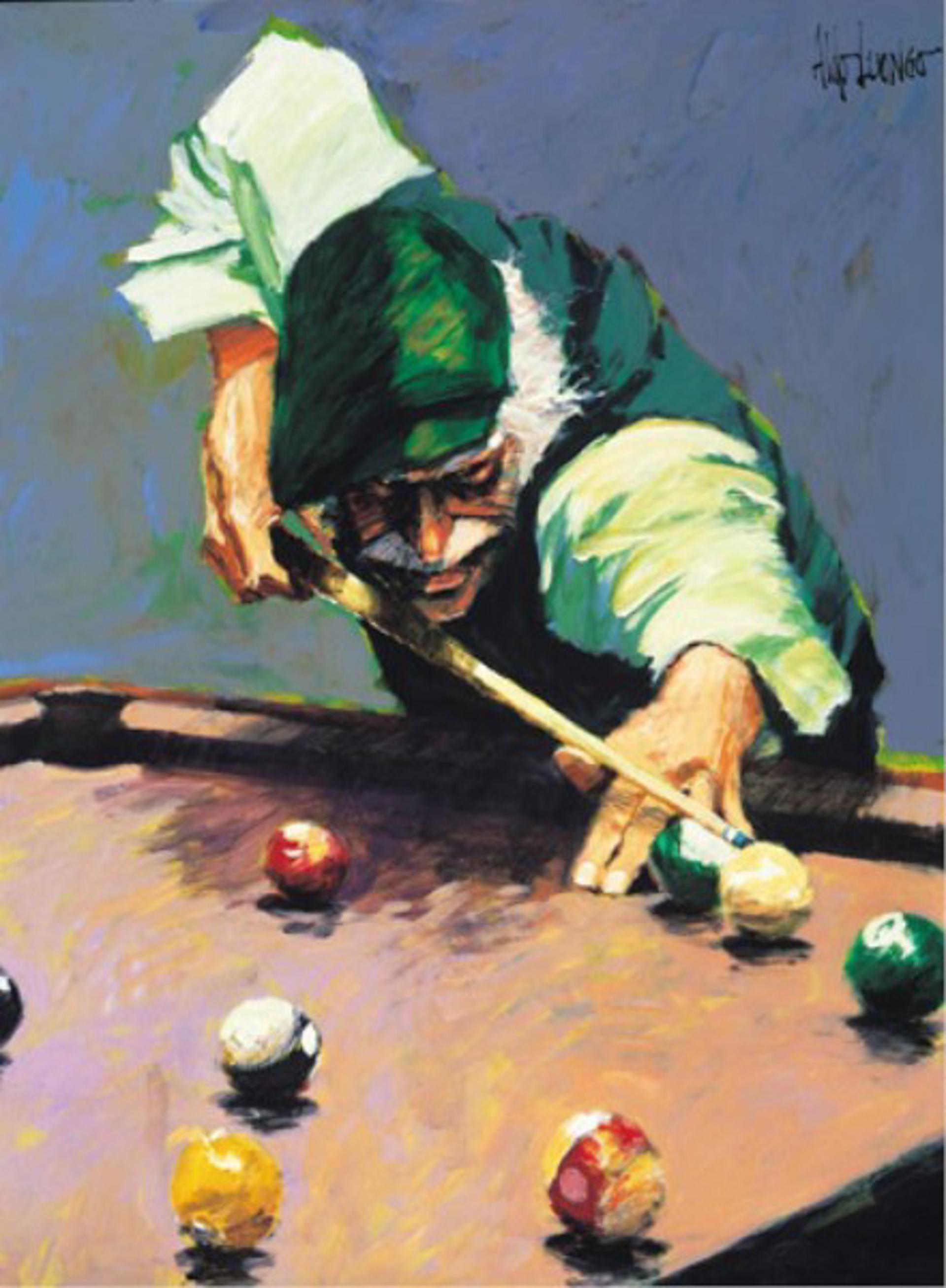 Billiards by Aldo Luongo