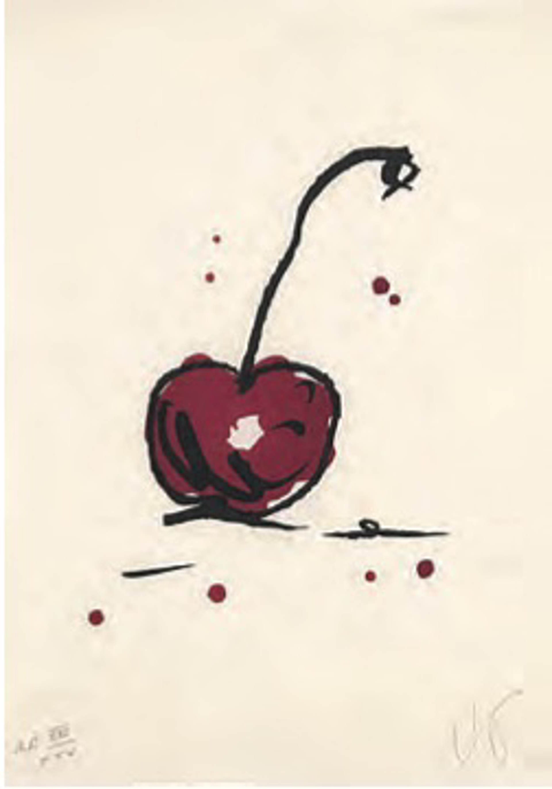 Cherry by Claes Oldenburg