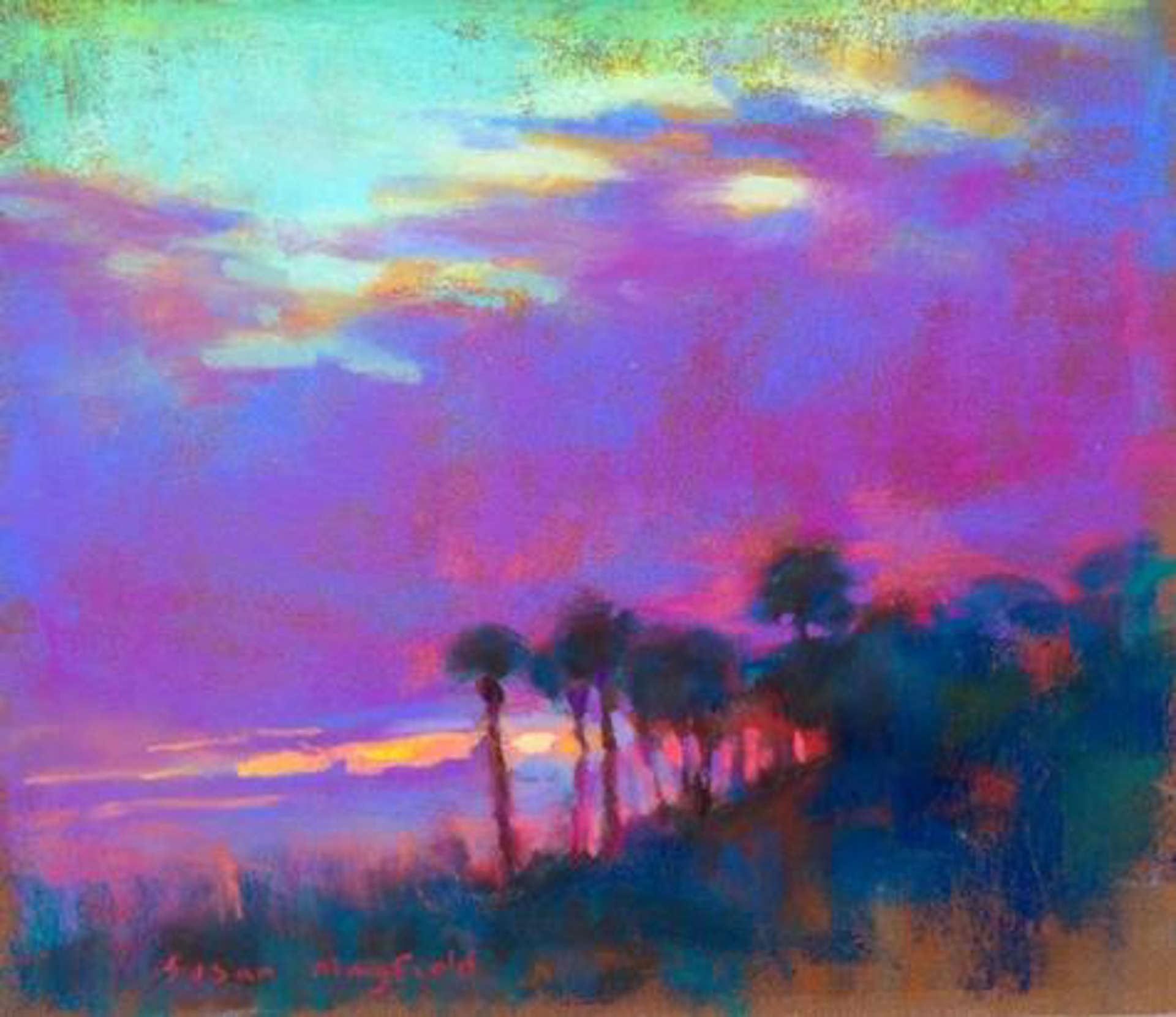 Violet Sky by Susan Mayfield