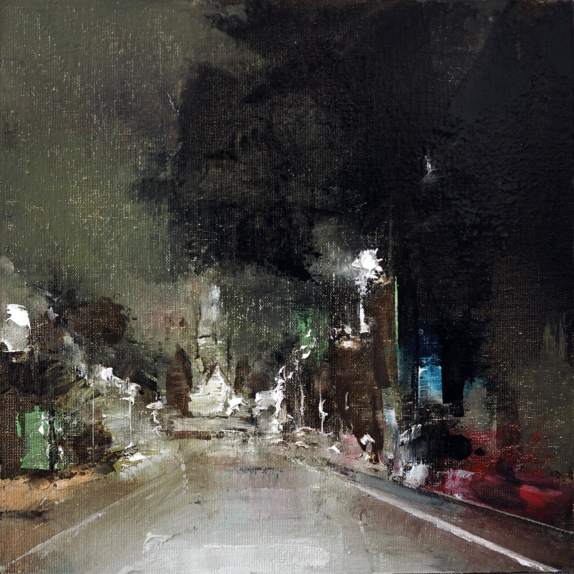 Traffic Study V by Heiko Mattausch