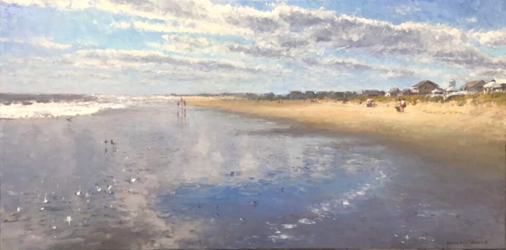 Beach Light, Atlantic Beach by Jimmy Craig Womble
