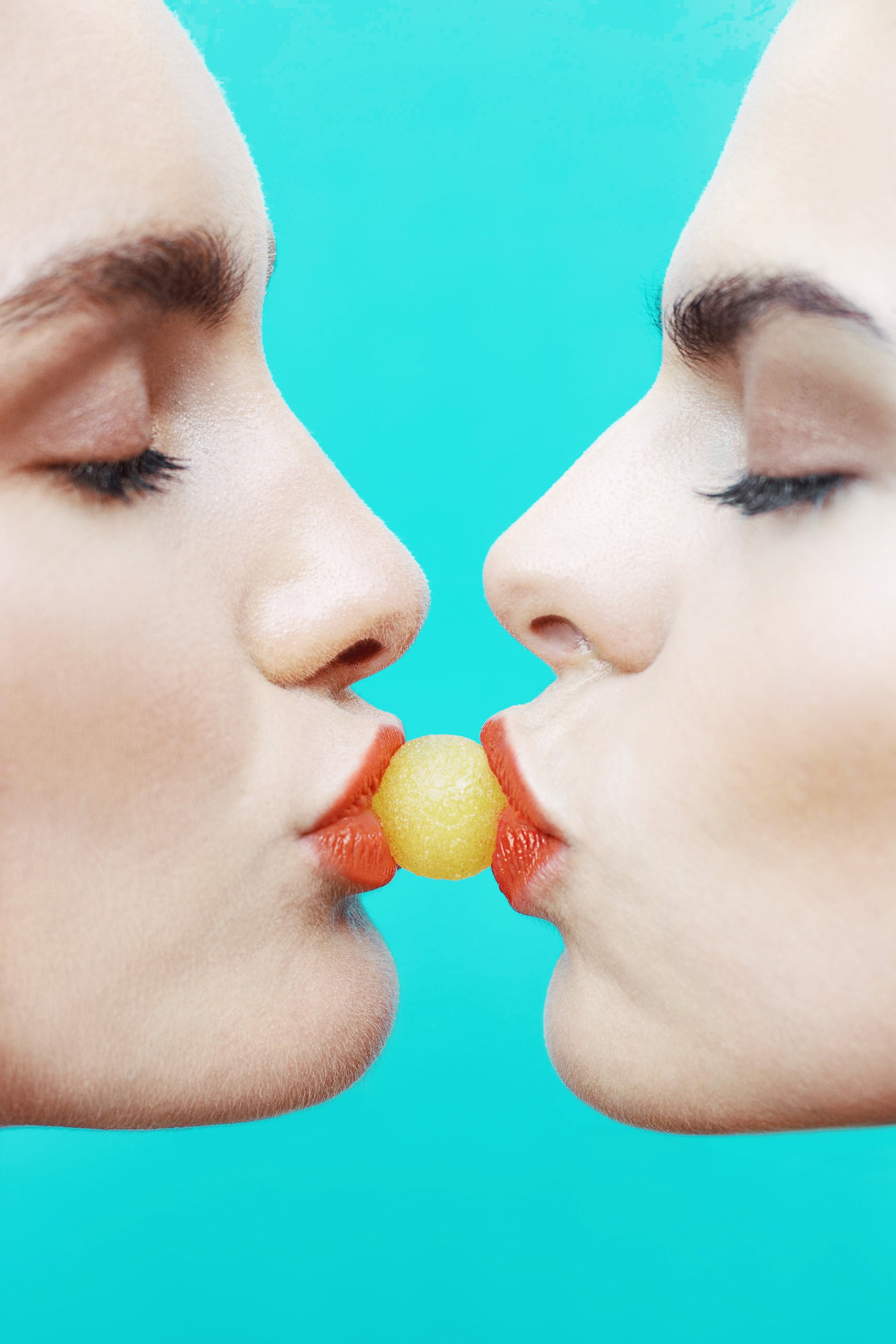 Kiss in Color by Samantha Marie Spencer