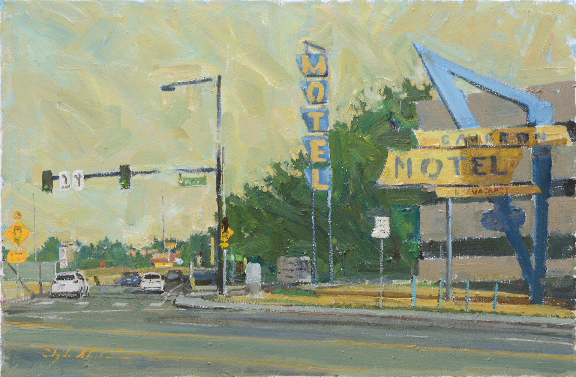 Cameron Motel by Clyde Steadman