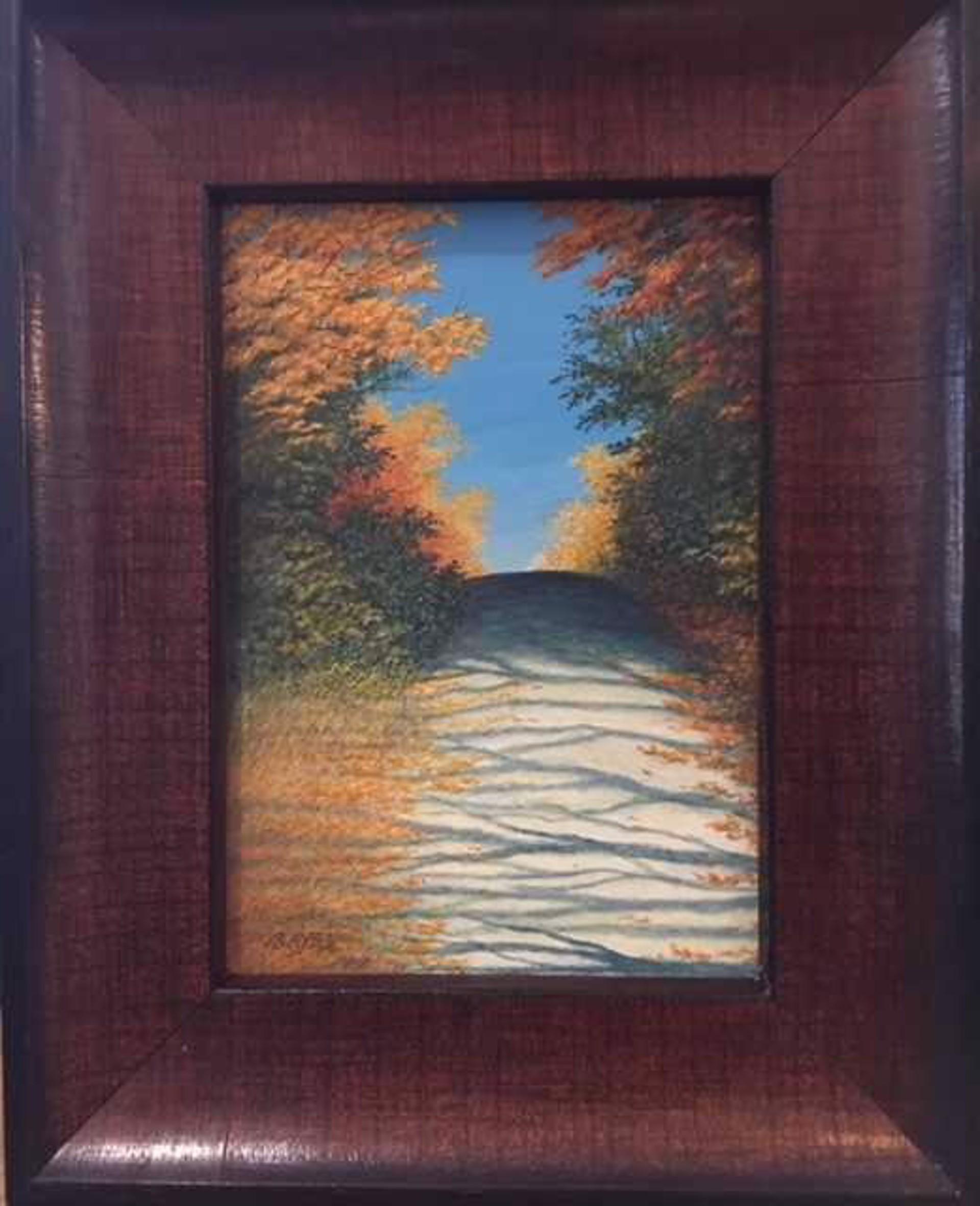 Autumn Ascent  by Judith Edgington Bayes