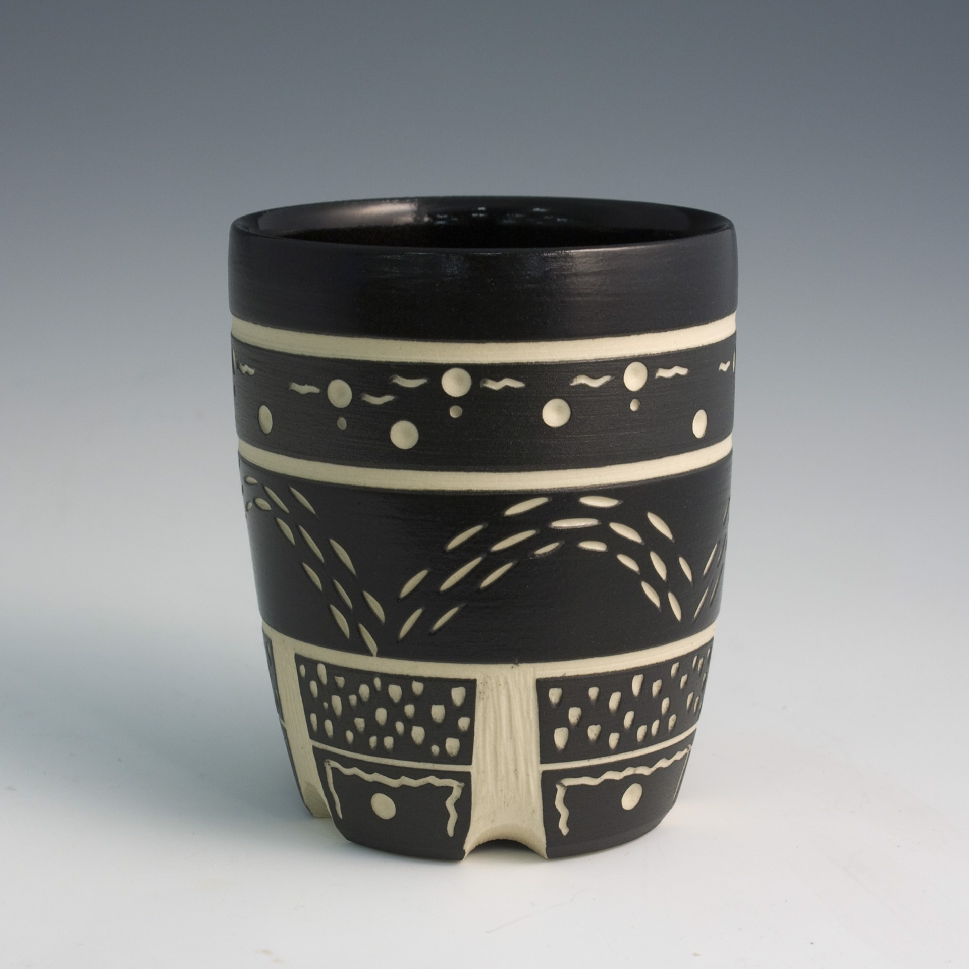 Cup (Black) by Chris Casey