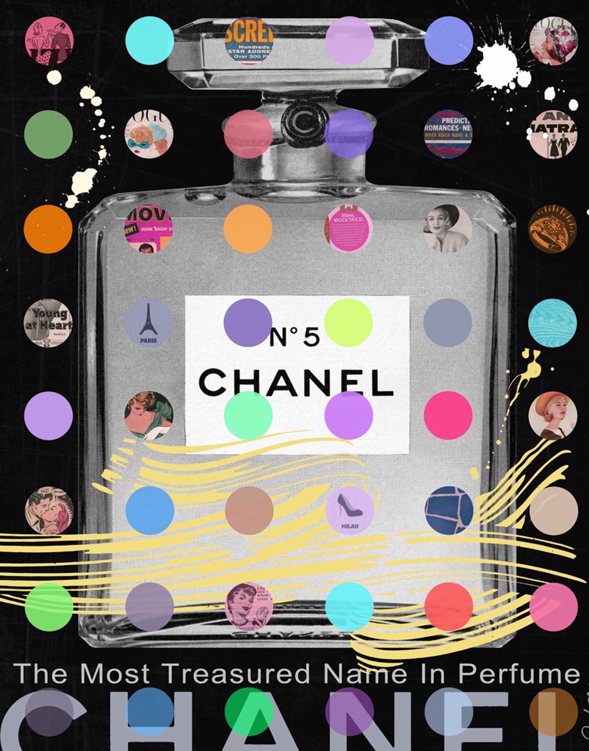 Chanel #5 Black by Nelson De La Nuez