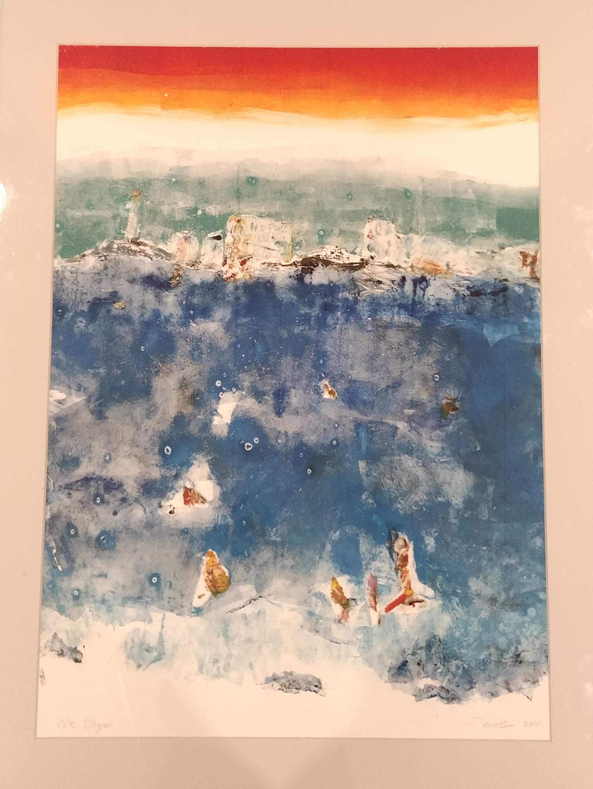 Cote D' Azur by Mary Volm (Carlton, OR)