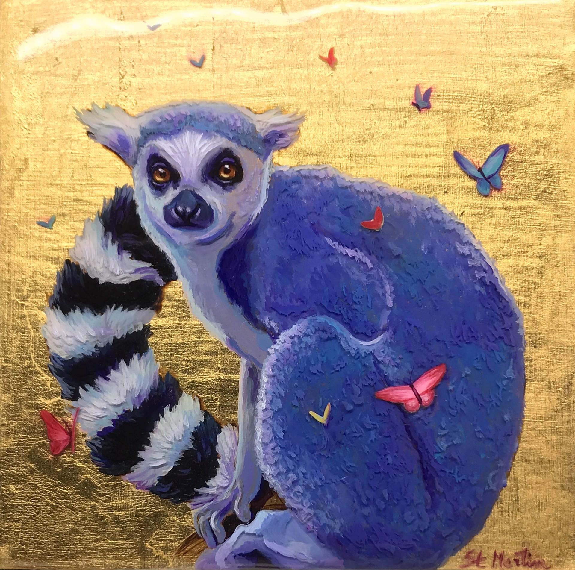 Lemur by Corina St. Martin