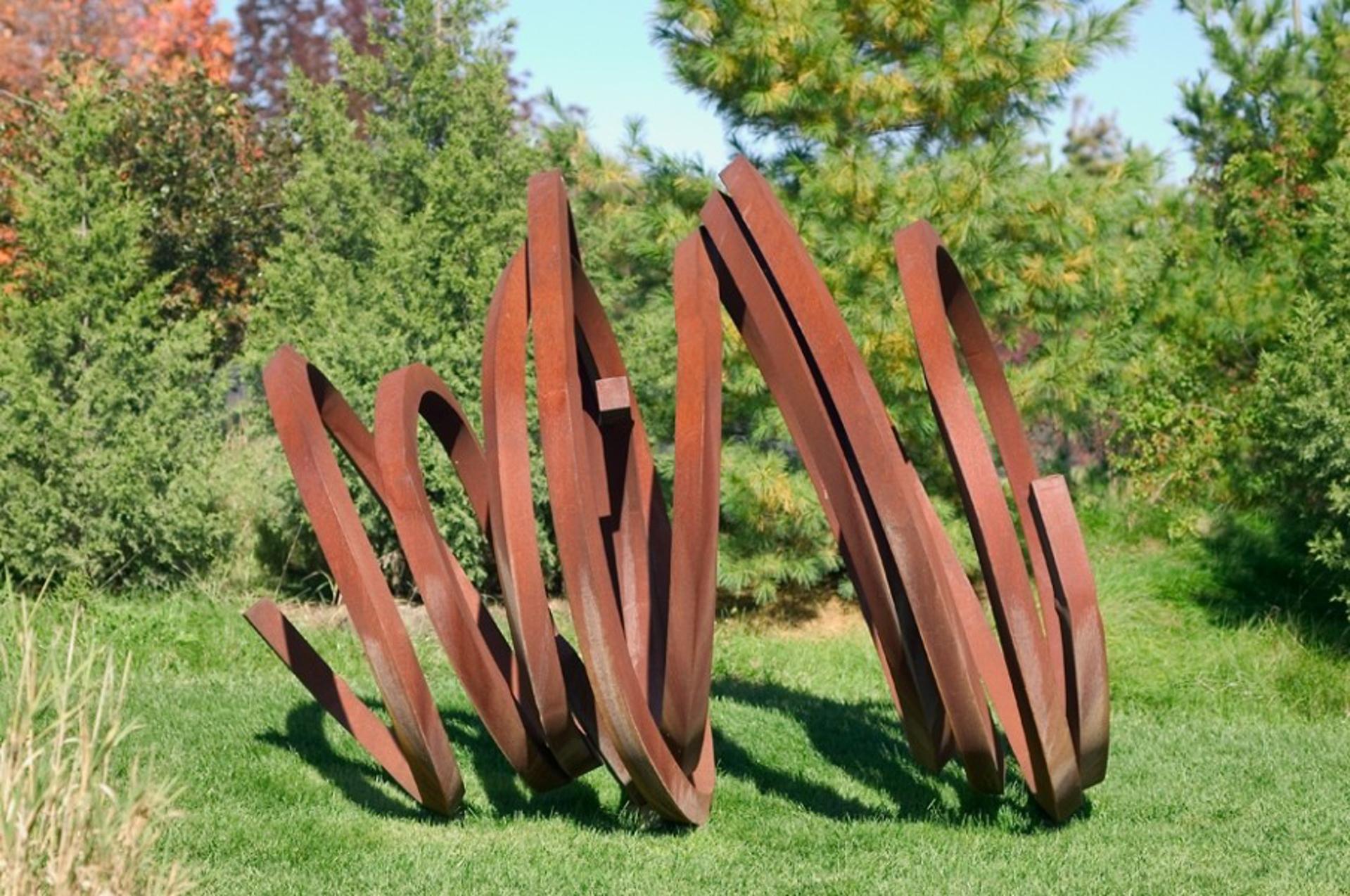 Two Indeterminate Lines by Bernar Venet
